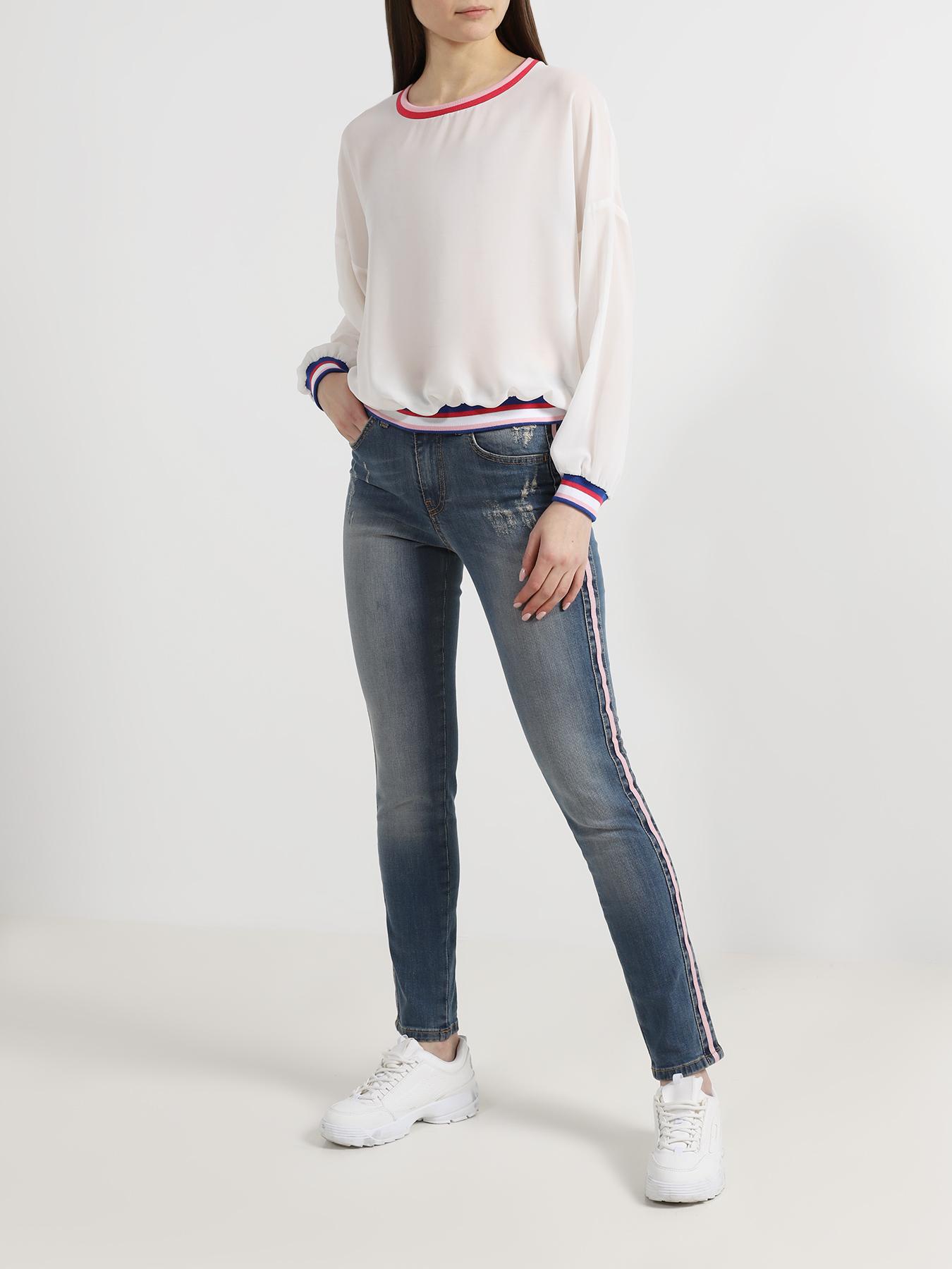Брюки Blugirl Зауженные джинсы