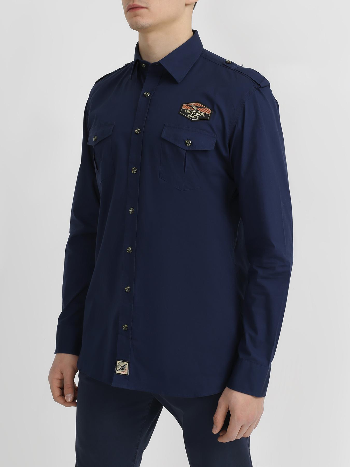 Рубашки Finisterre Force Рубашка с карманами на пуговицах жакет удлиненный с карманами на пуговицах