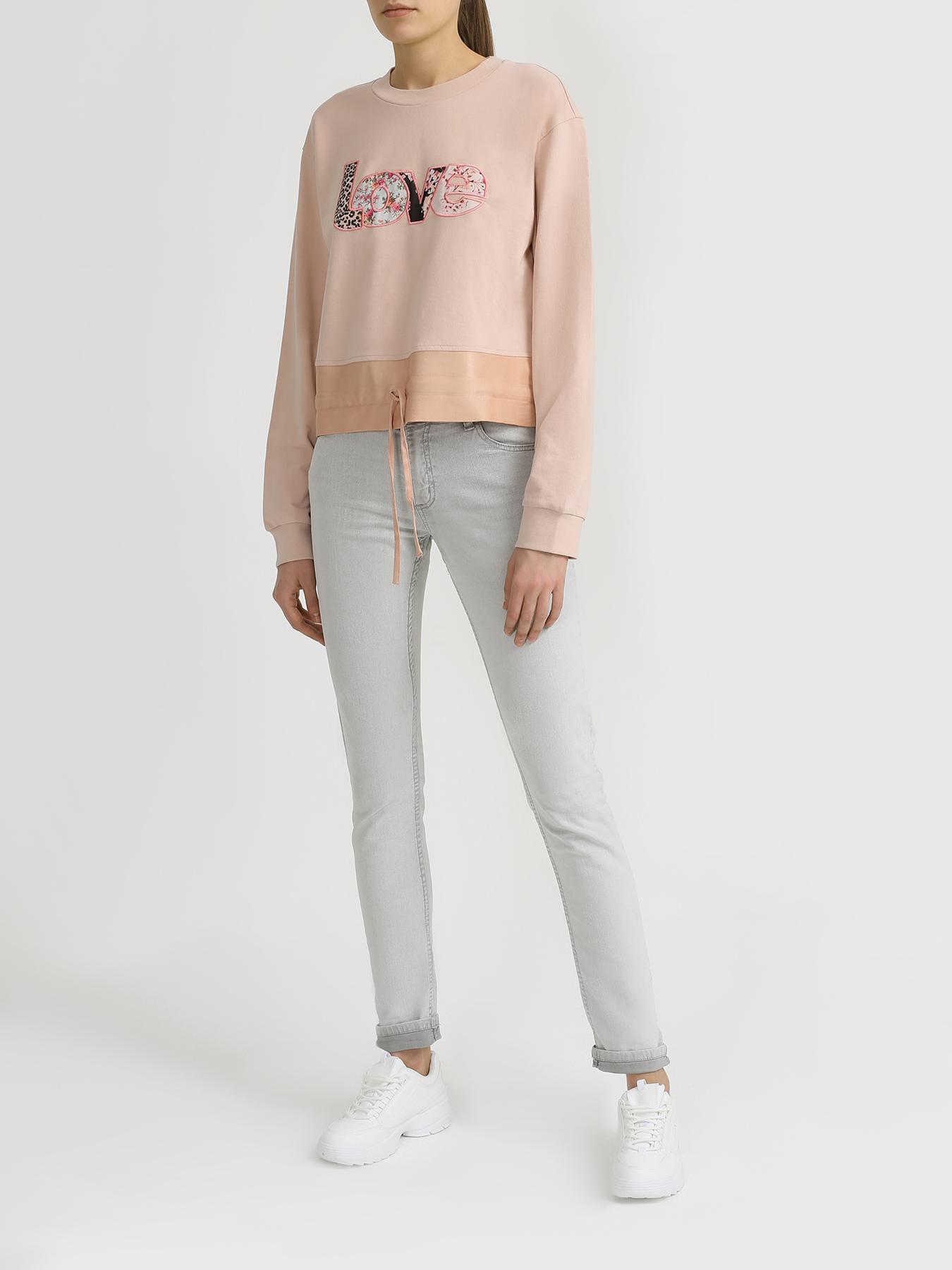 Джемпер TWINSET MILANO Хлопковый джемпер джинсы twinset milano twinset milano tw008ewbwph2