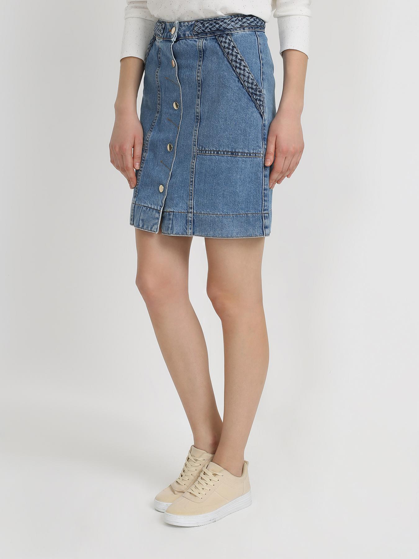 2nd day джинсовая юбка Юбки TWINSET MILANO Джинсовая юбка