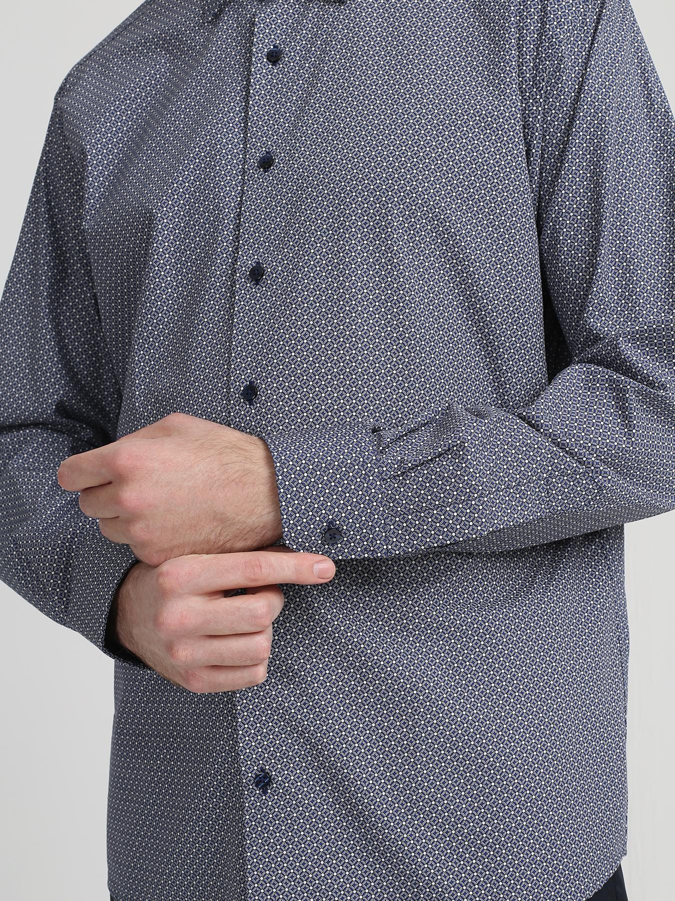 Eterna Хлопковая рубашка 333531-023 Фото 4