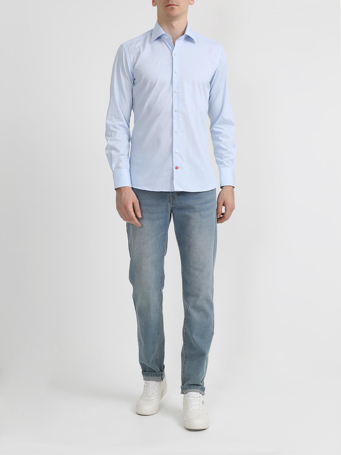 Alessandro Manzoni Хлопковая рубашка фото