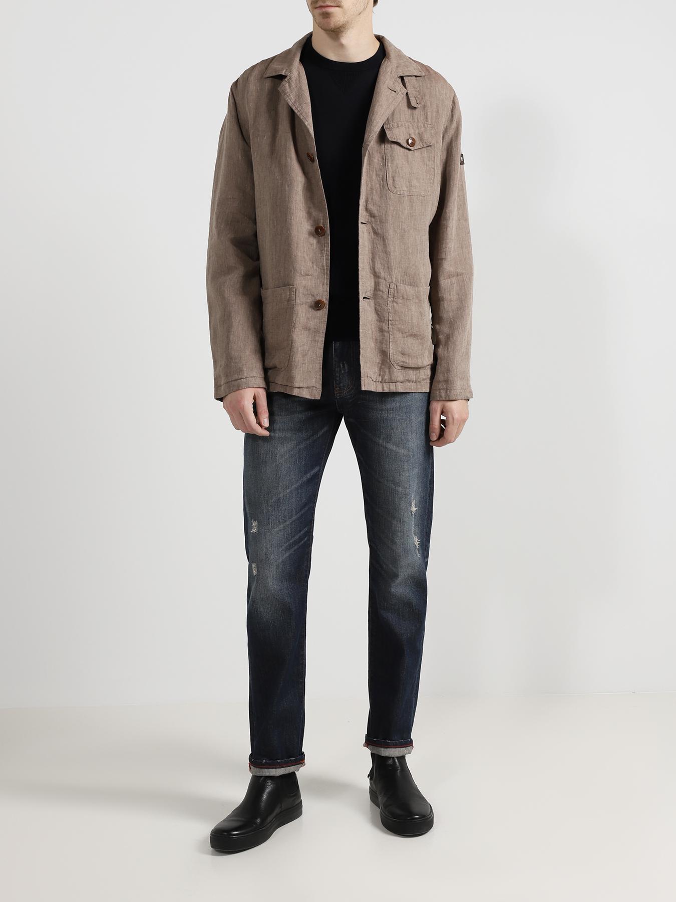 Куртка Pierre Cardin Льняной пиджак мокасины pierre cardin pierre cardin mp002xm0yibe