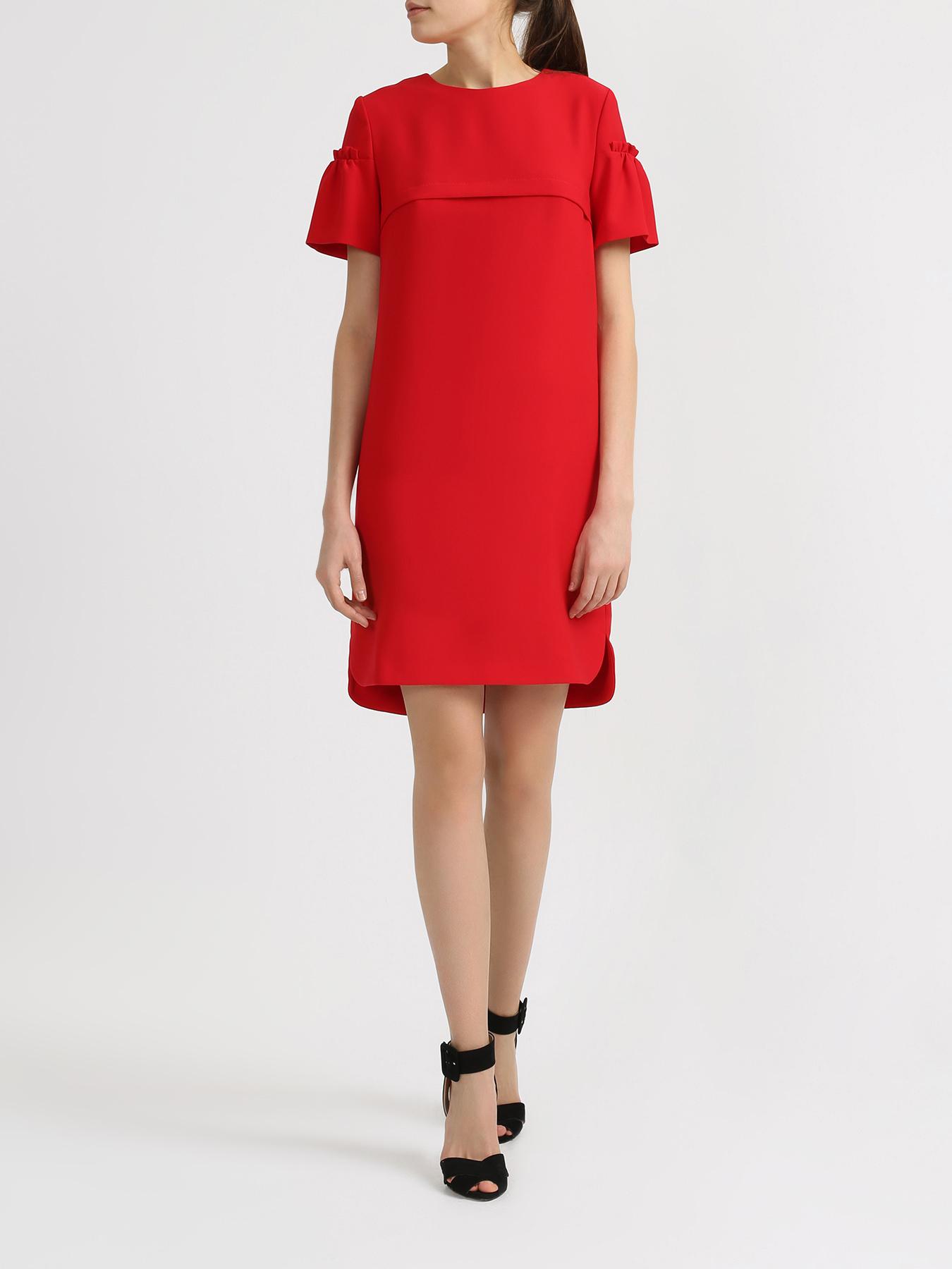 Платье Korpo Two Однотонное платье платье прямое средней длины однотонное без рукавов