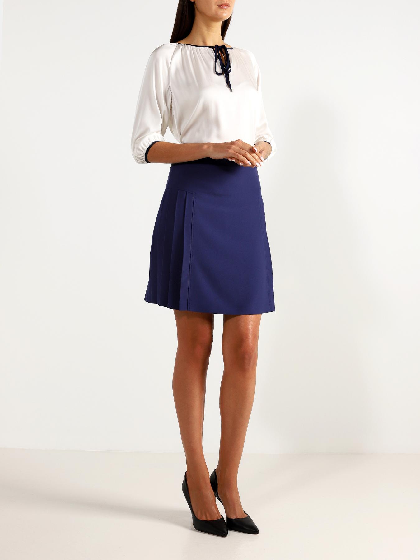 Korpo Two Однотонная юбка фото