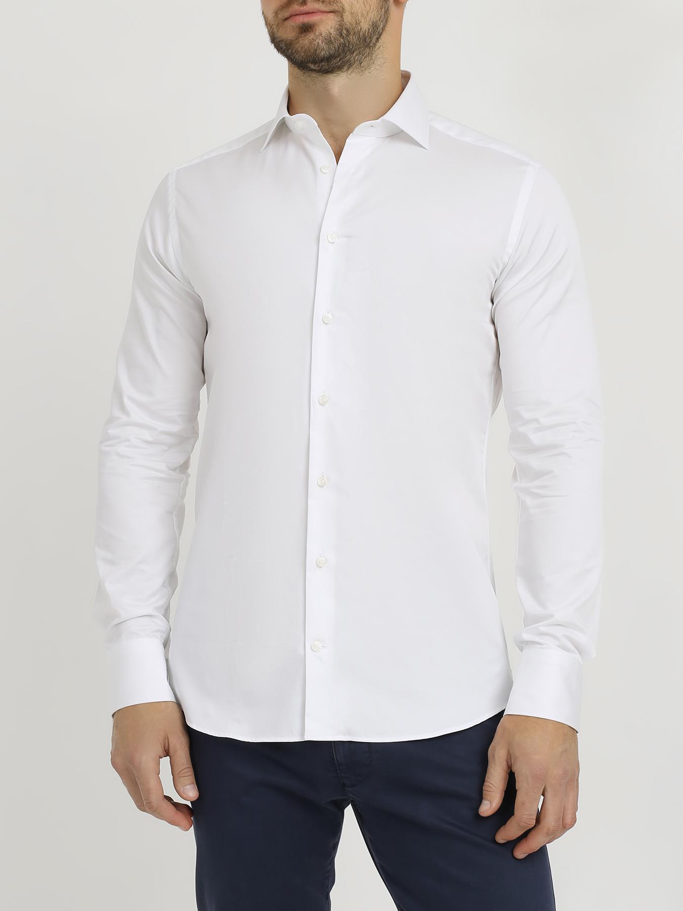 Korpo Korpo Однотонная хлопковая рубашка