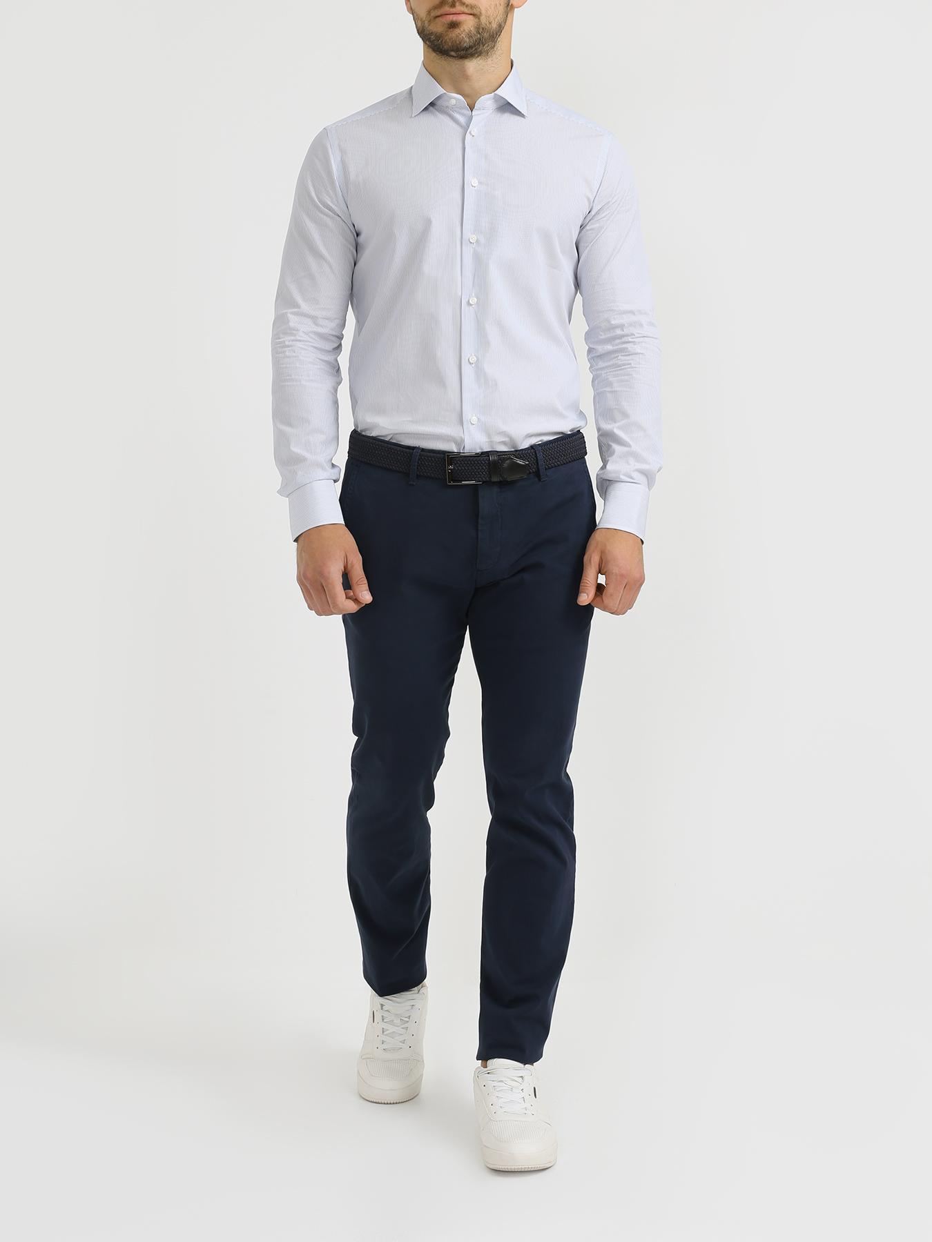 Рубашка Korpo Хлопковая рубашка в полоску