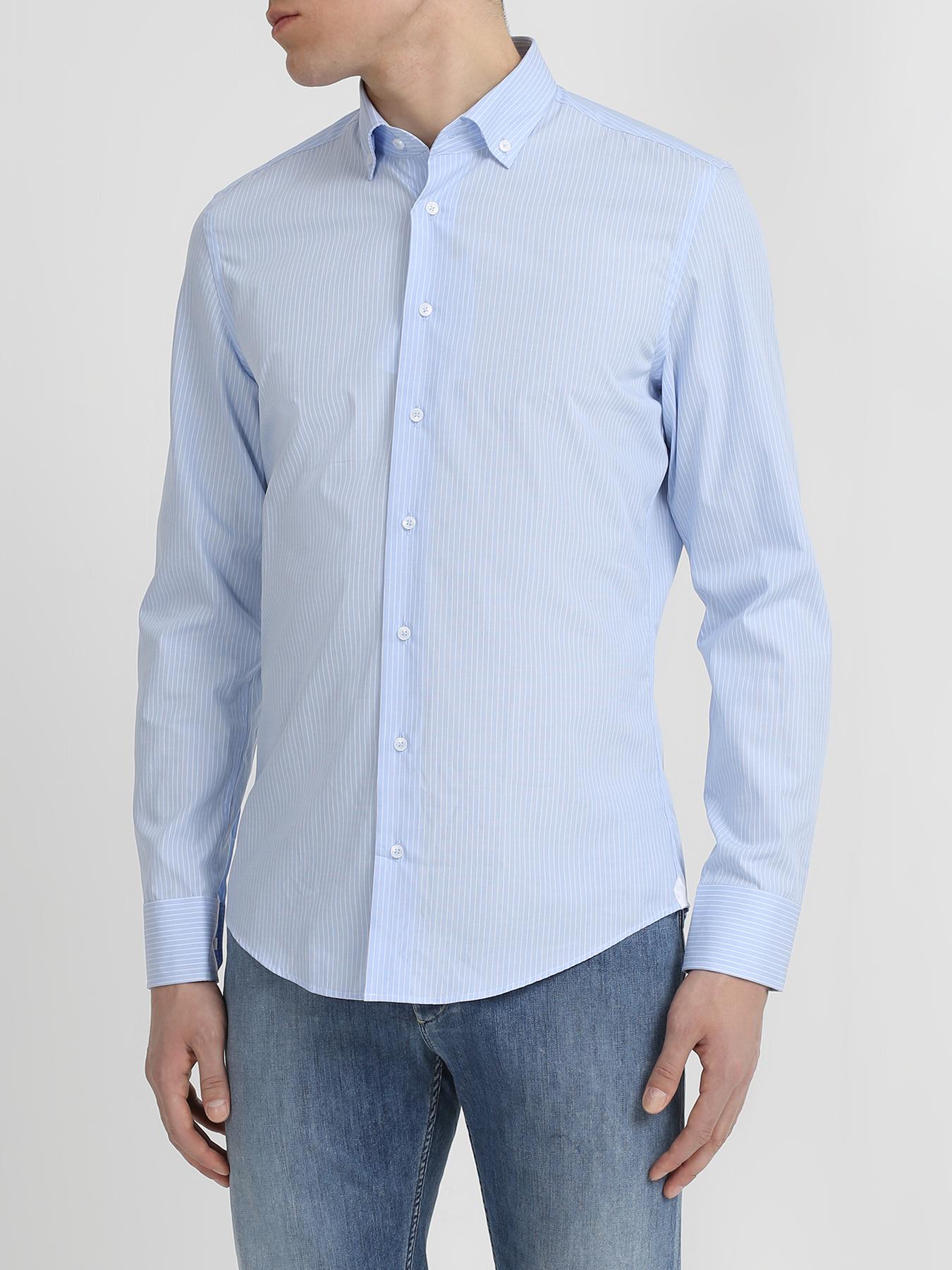 ночная рубашка с принтом в полоску Рубашки Ritter Хлопковая рубашка в полоску