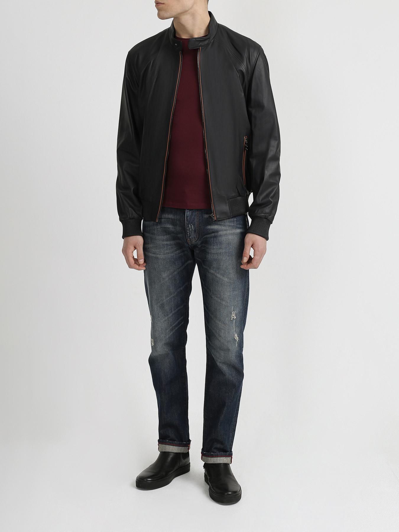 Куртка Alessandro Manzoni Кожаная куртка куртка