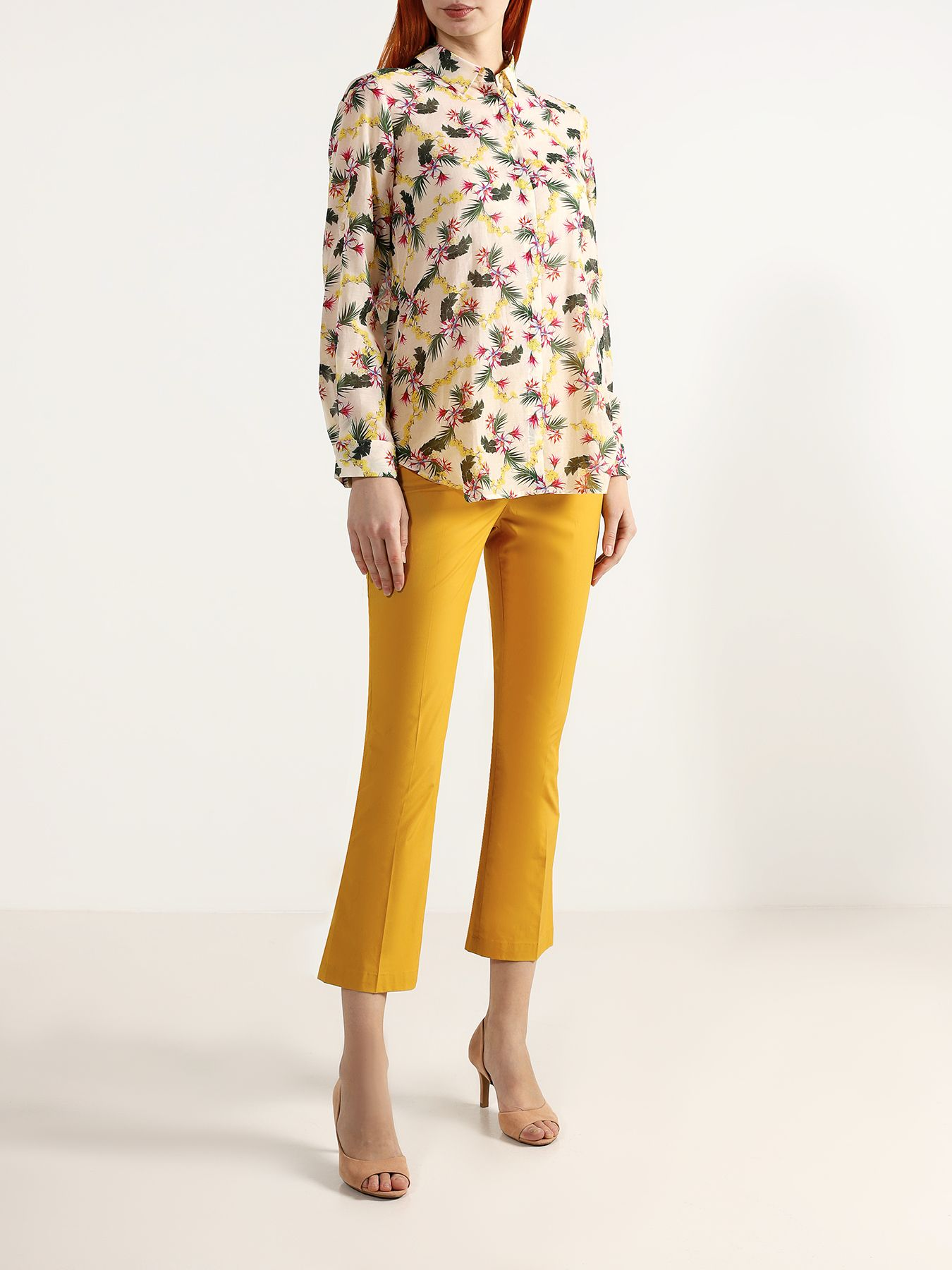 Брюки TWINSET MILANO Расклешенные брюки джинсы twinset milano twinset milano tw008ewbwph2