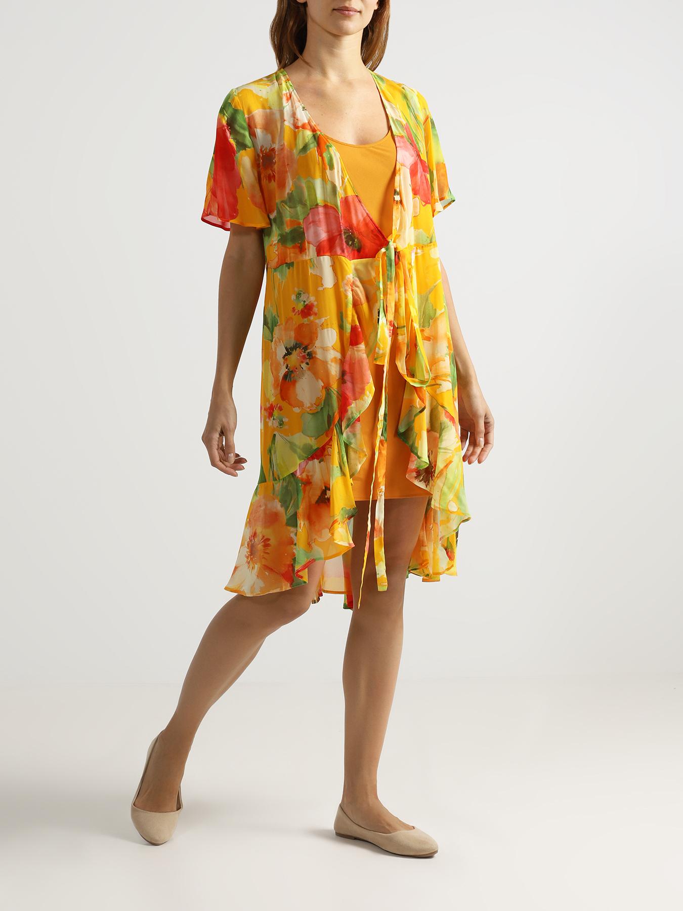 Платье TWINSET MILANO Комбинированное платье джинсы twinset milano twinset milano tw008ewbwph2