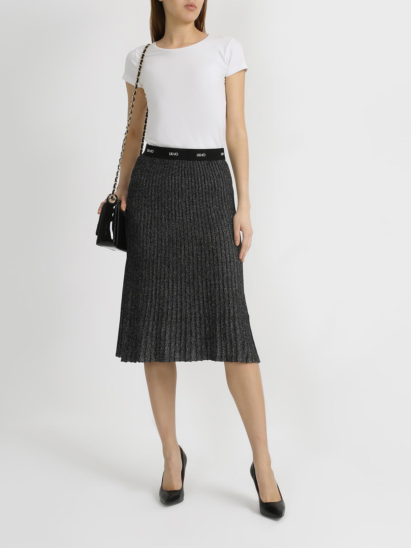 Юбка Liu Jo Женская юбка юбка liu jo liu jo li687ewhrhf4