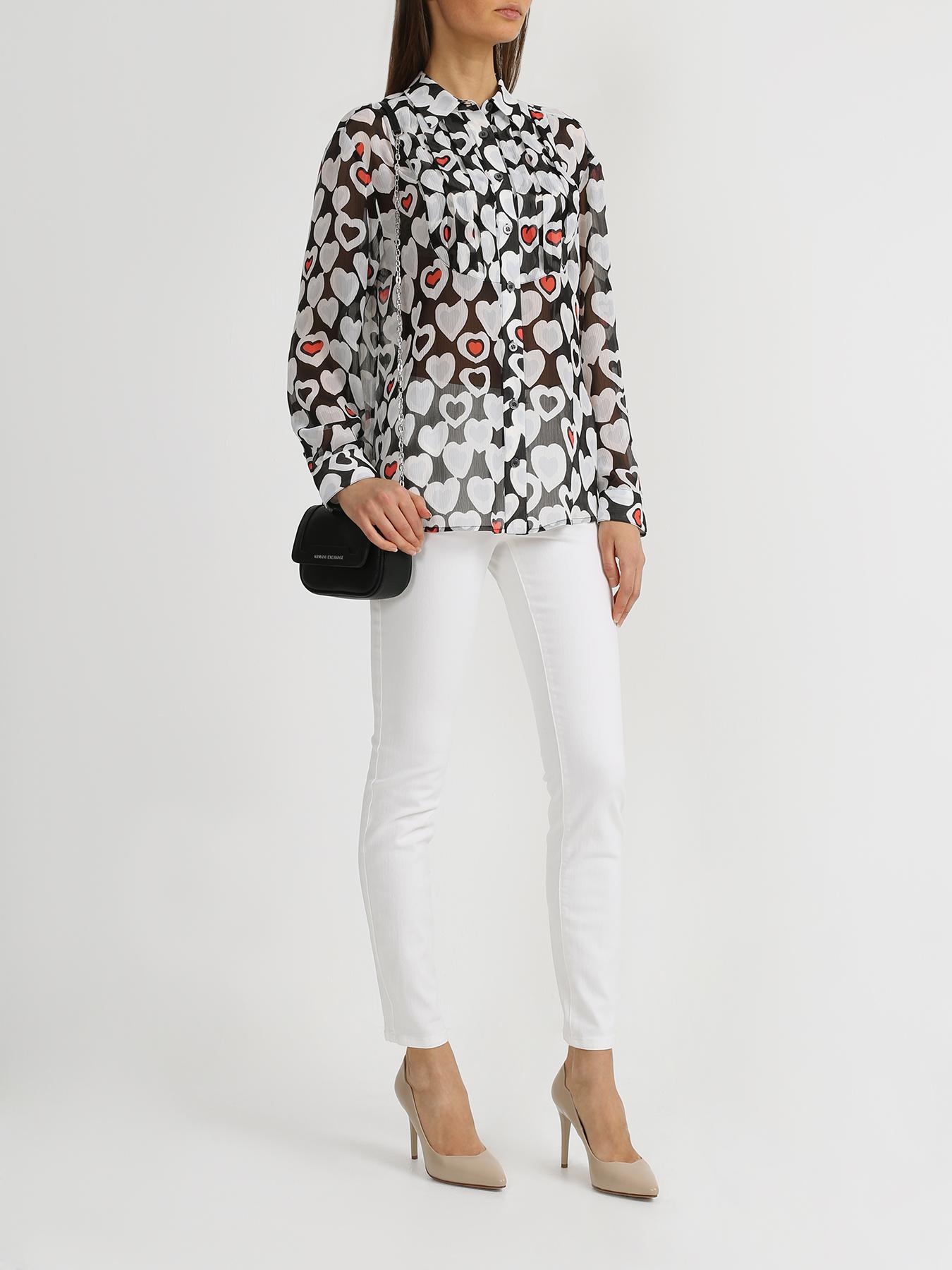 Emporio Armani Рубашка с сердечками 339017-024
