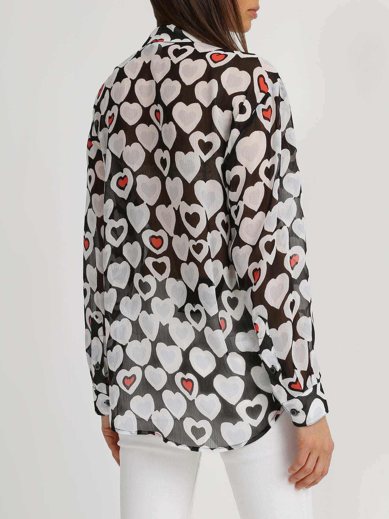 Emporio Armani Рубашка с сердечками 339017-024 Фото 2