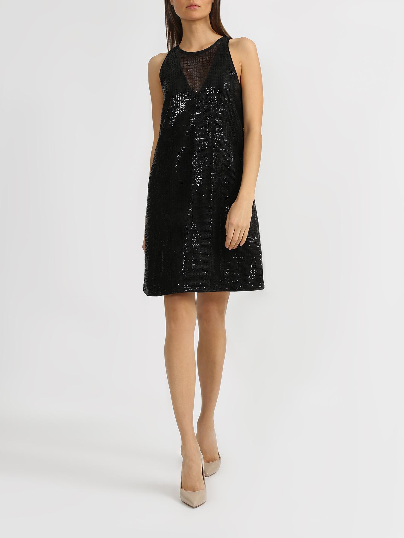 Emporio Armani Платье с пайетками фото