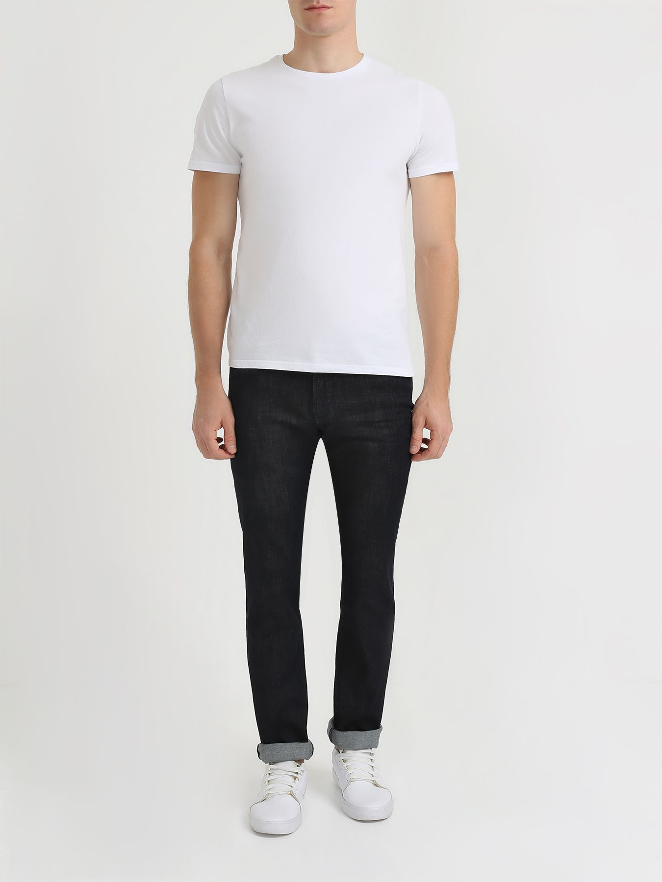 Брюки Korpo Зауженные джинсы брюки korpo прямые джинсы