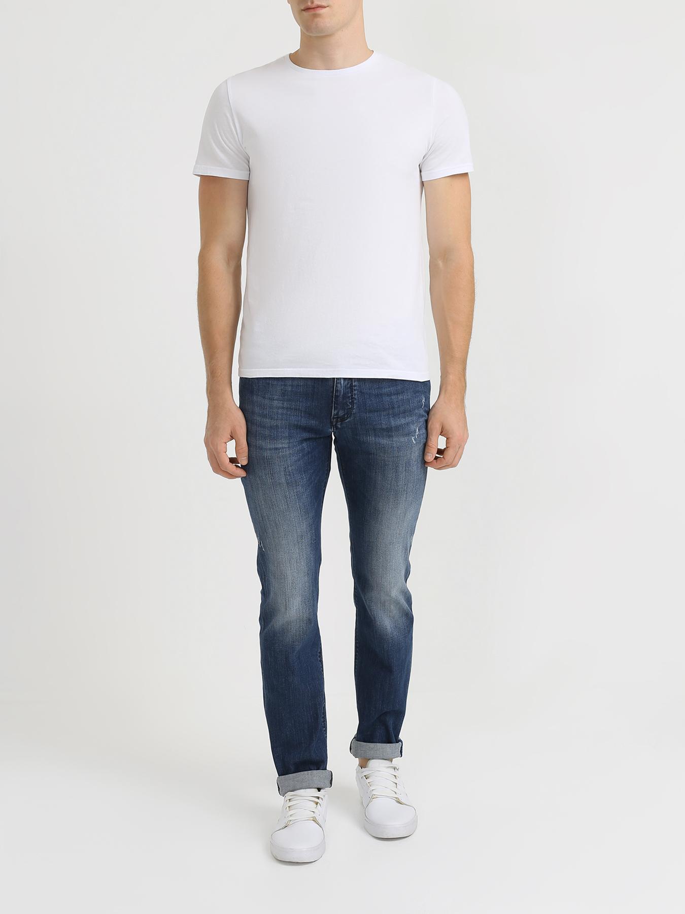 Брюки Korpo Зауженные джинсы