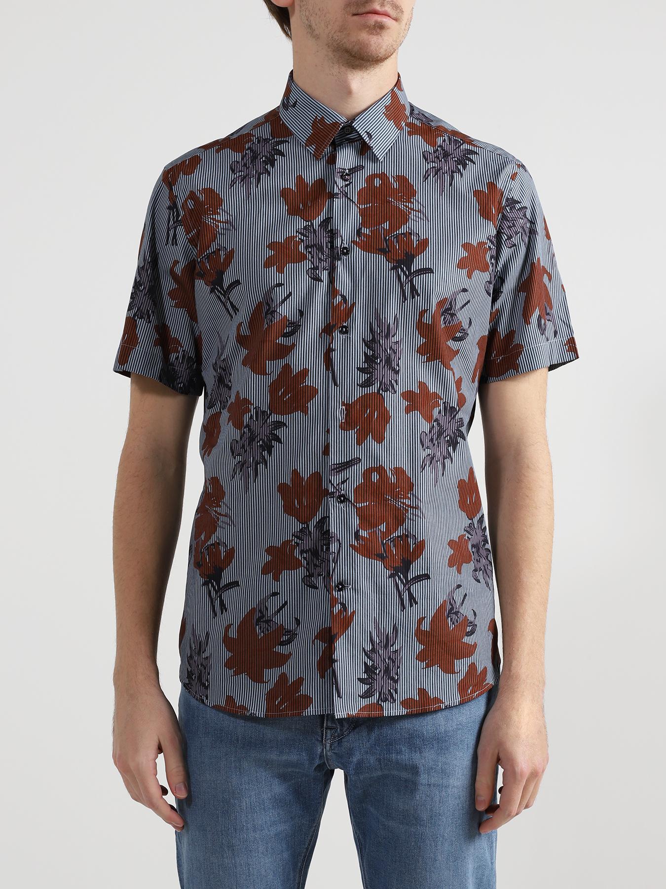 Рубашки Lab Pal Zileri Хлопковая рубашка