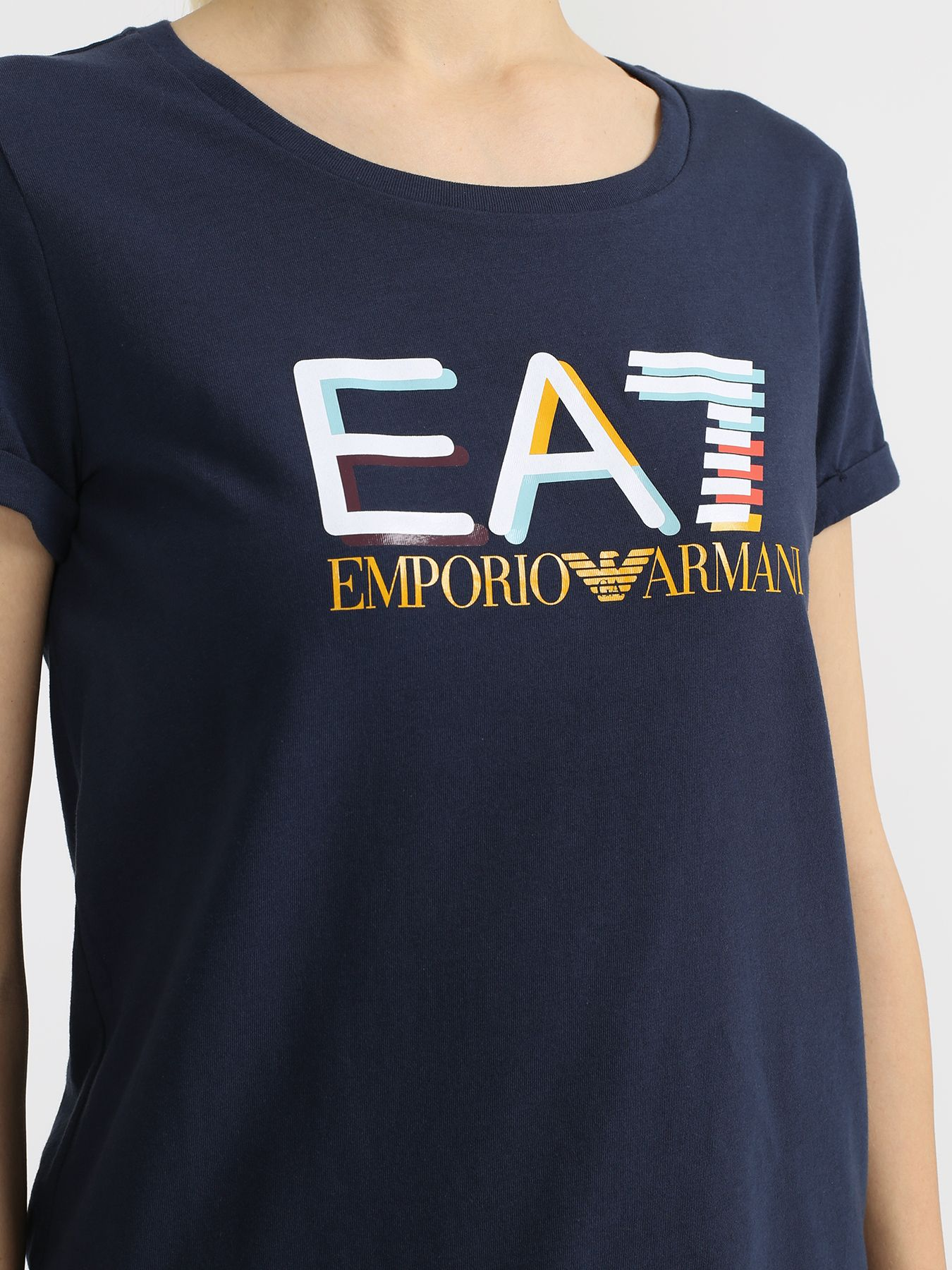 EA7 Emporio Armani Спортивная футболка 340516-044 Фото 3