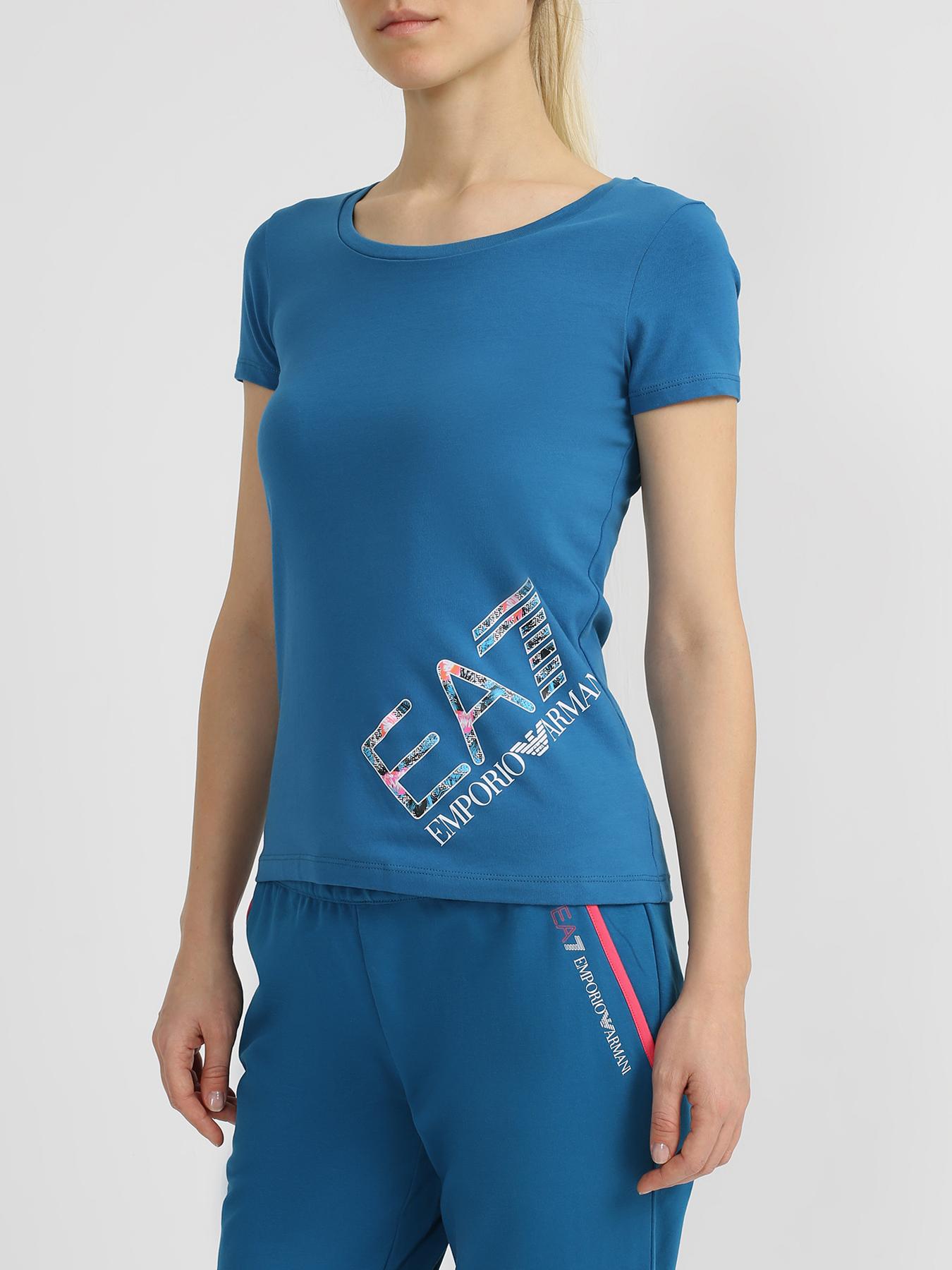 Футболки EA7 Emporio Armani Спортивная футболка