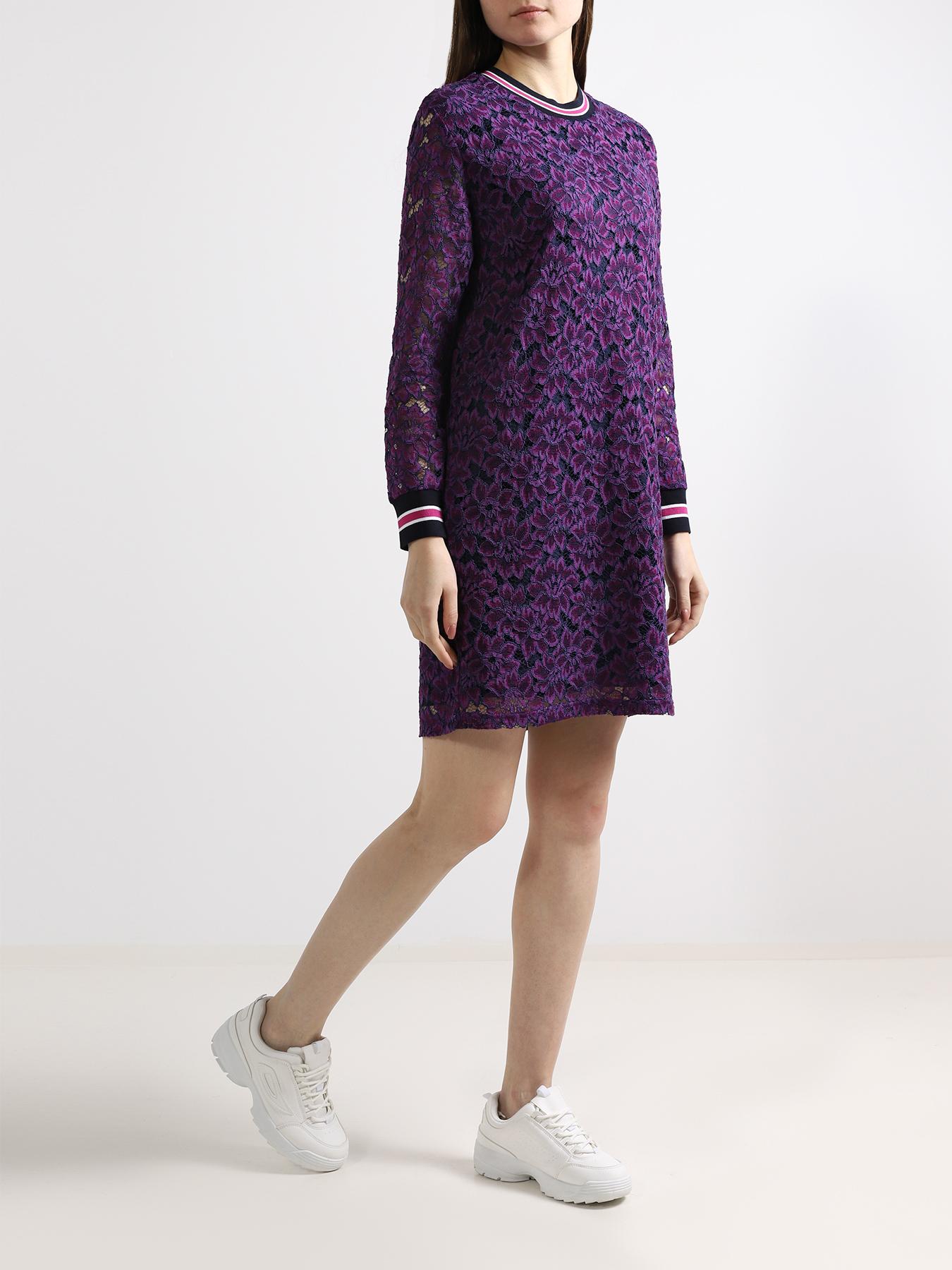 Платье 6 P.M. Платье с кружевом