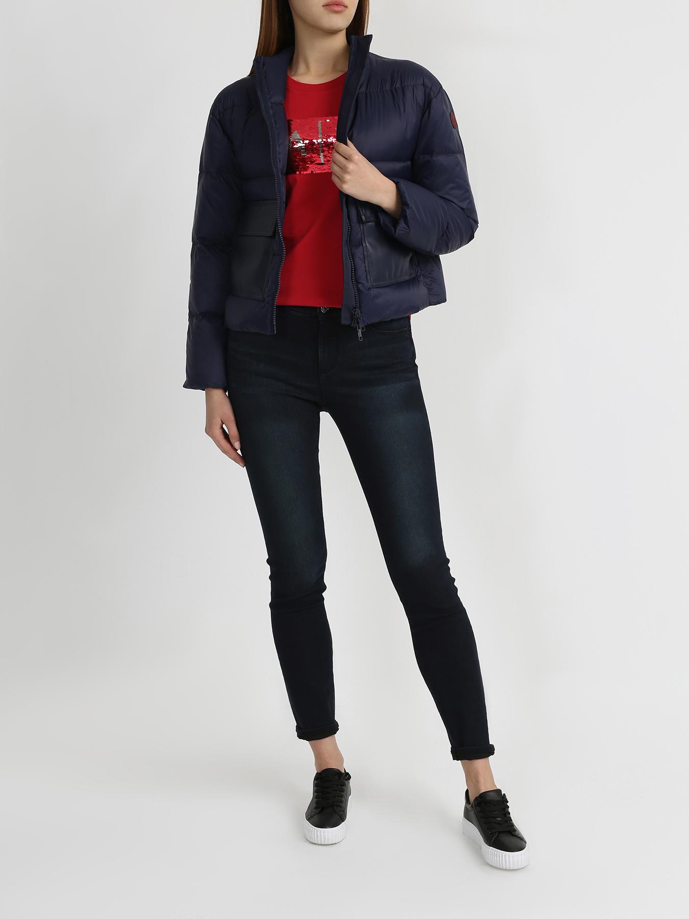 Куртка Armani Exchange Короткая куртка с большими карманами