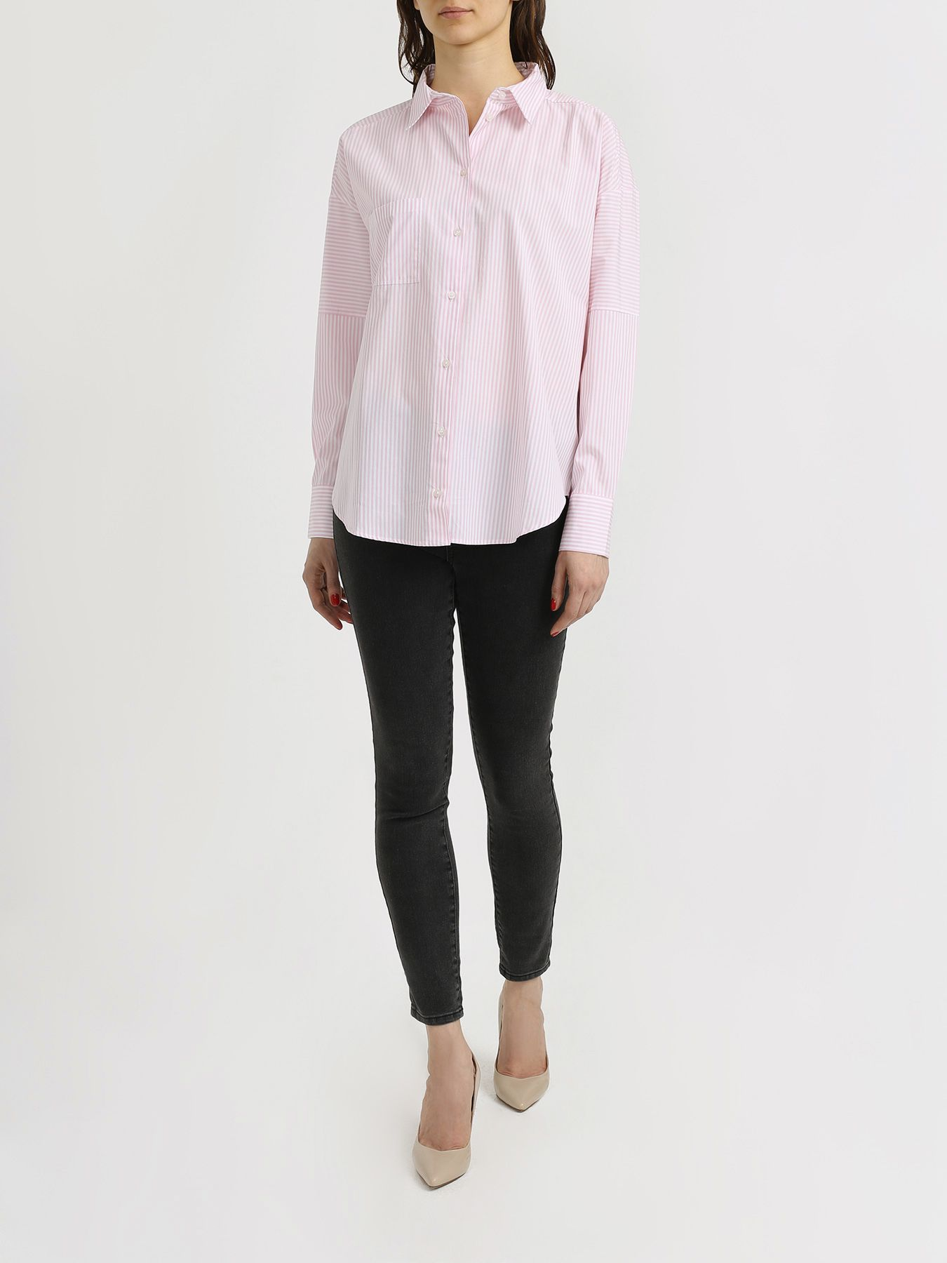 Armani Exchange Полосатая рубашка 342005-044