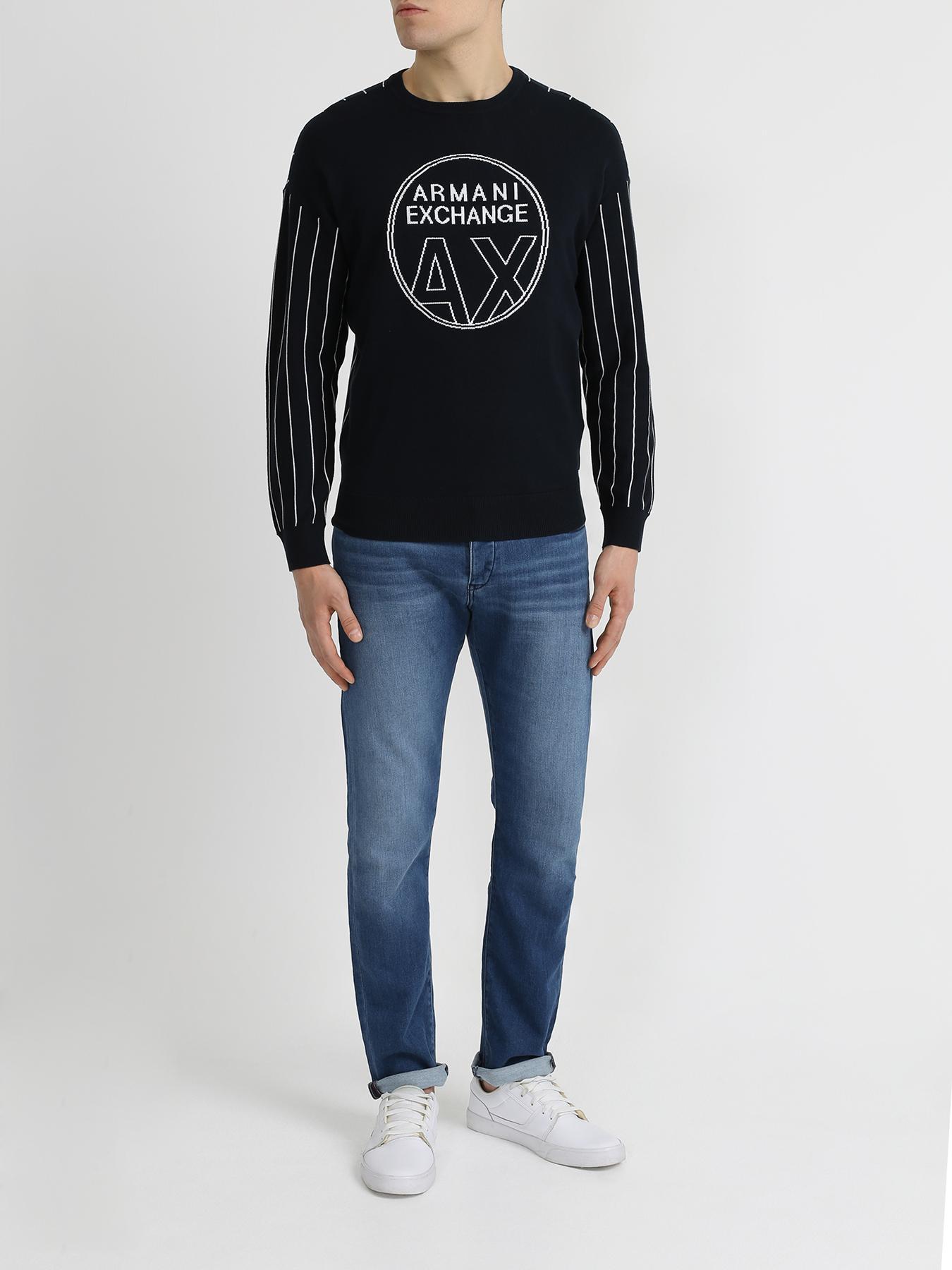 Armani Exchange Джемпер с полосками 342133-045