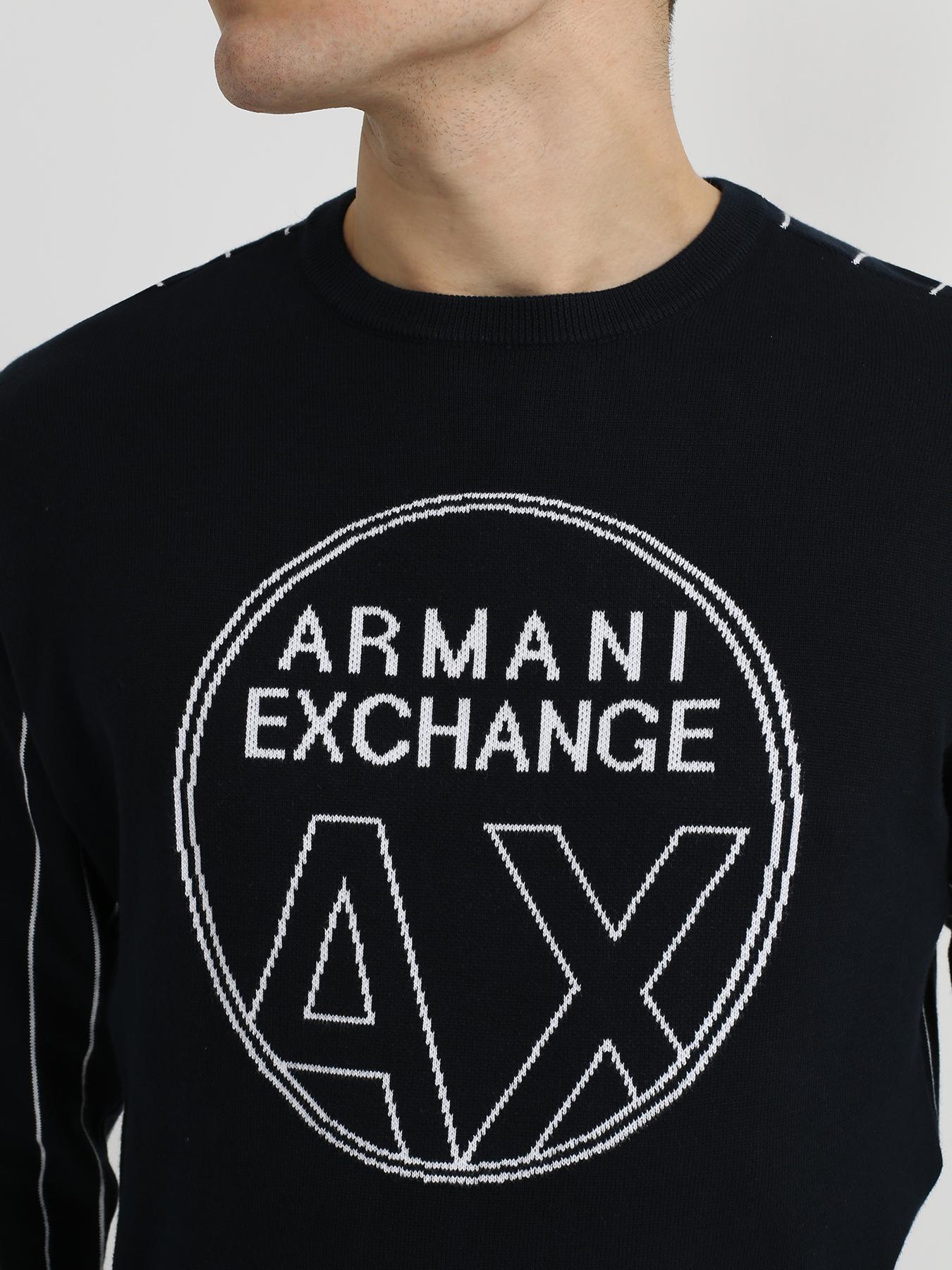 Armani Exchange Джемпер с полосками 342133-045 Фото 3