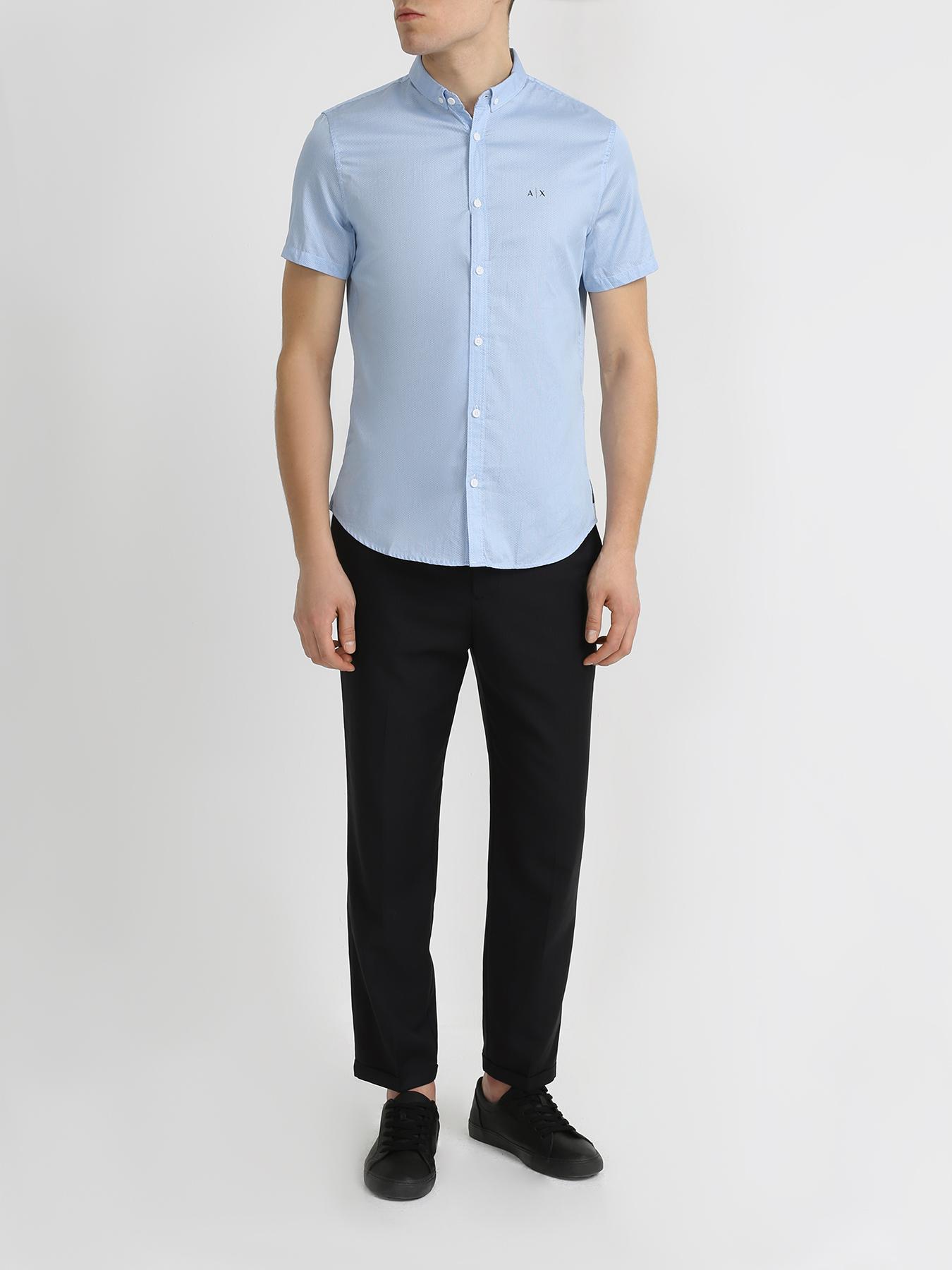 Armani Exchange Укороченные брюки фото