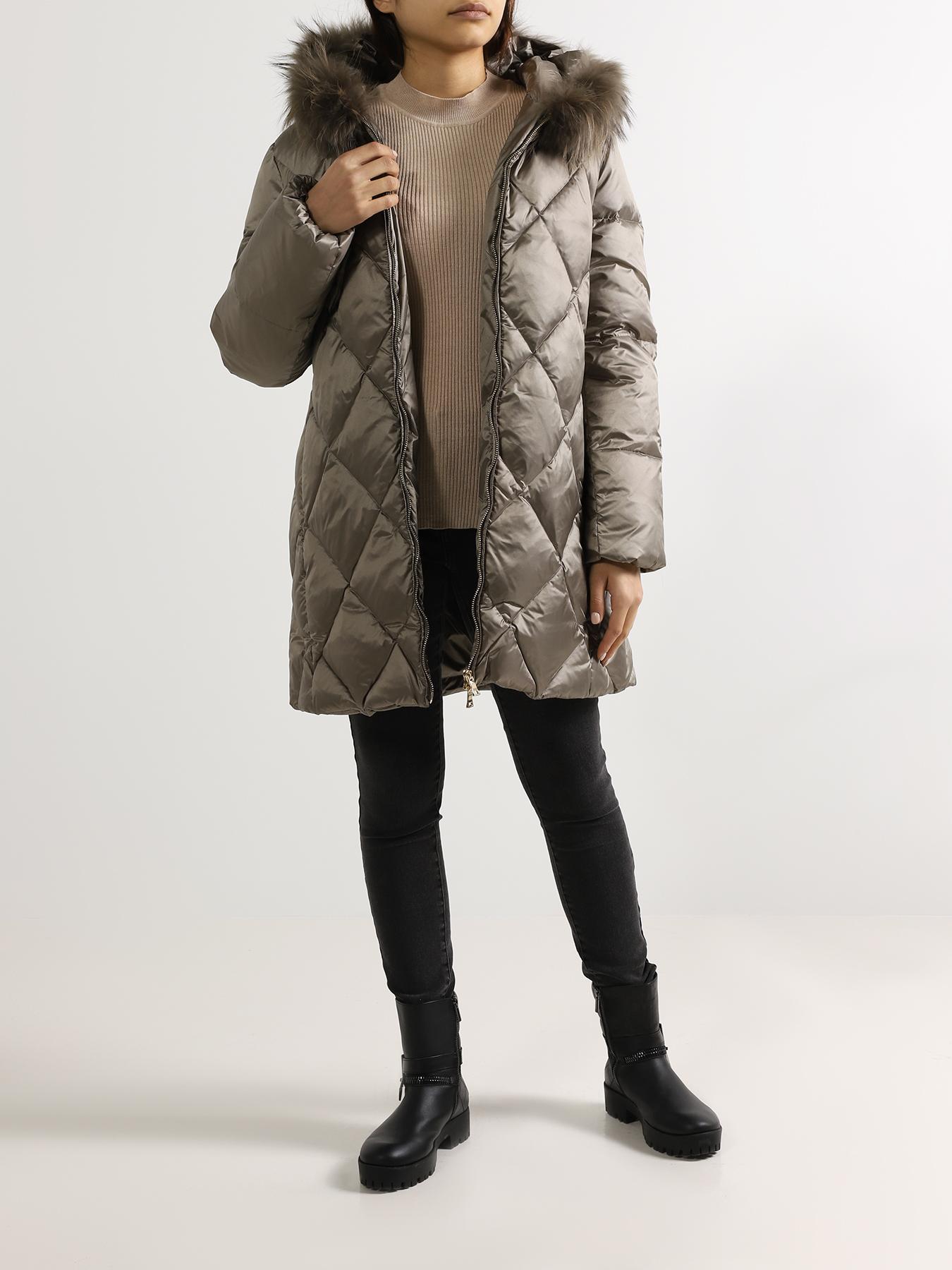 Полупальто ORSA Couture Женский пуховик недорого