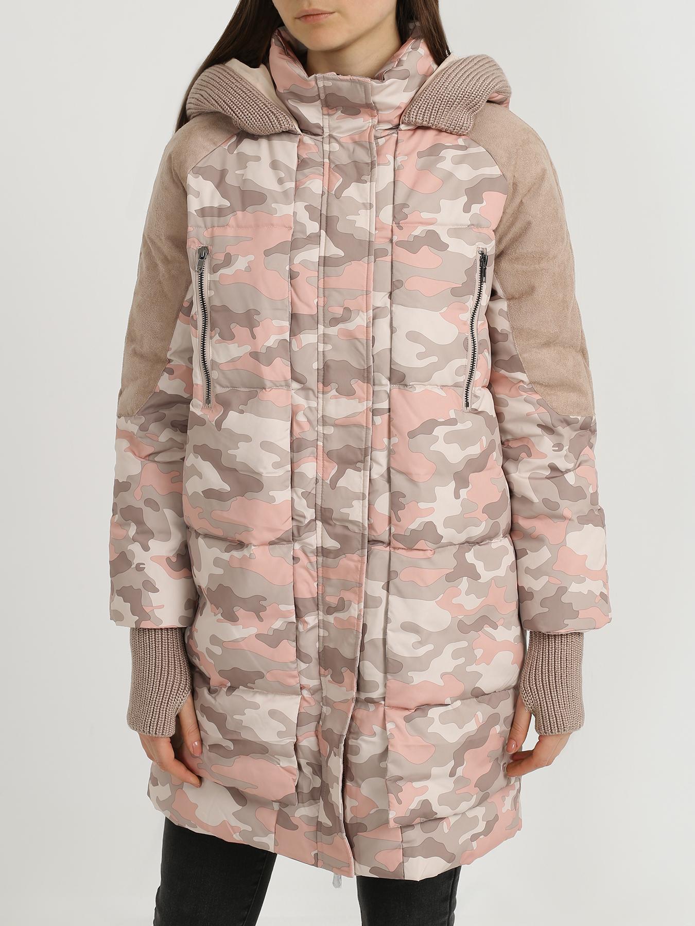 Пуховики 6 P.M. Удлиненная куртка из полиэстера