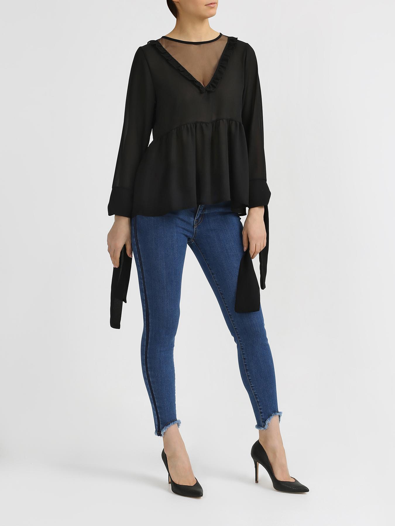 Блузка Rinascimento Блузка с вырезом блузка lime блузка с завязками