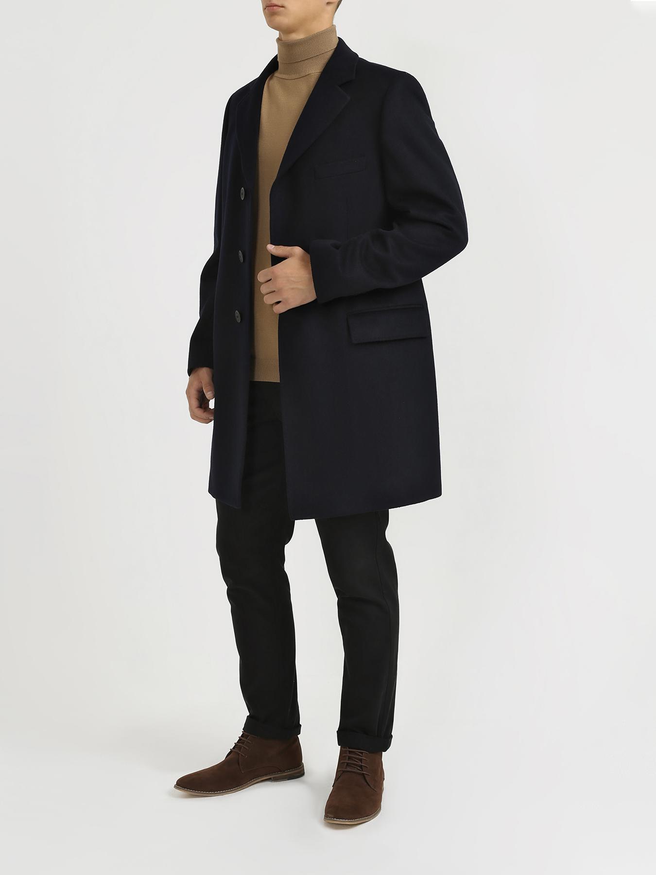 Пальто Alessandro Manzoni Классическое пальто пальто alessandro manzoni мужское пальто