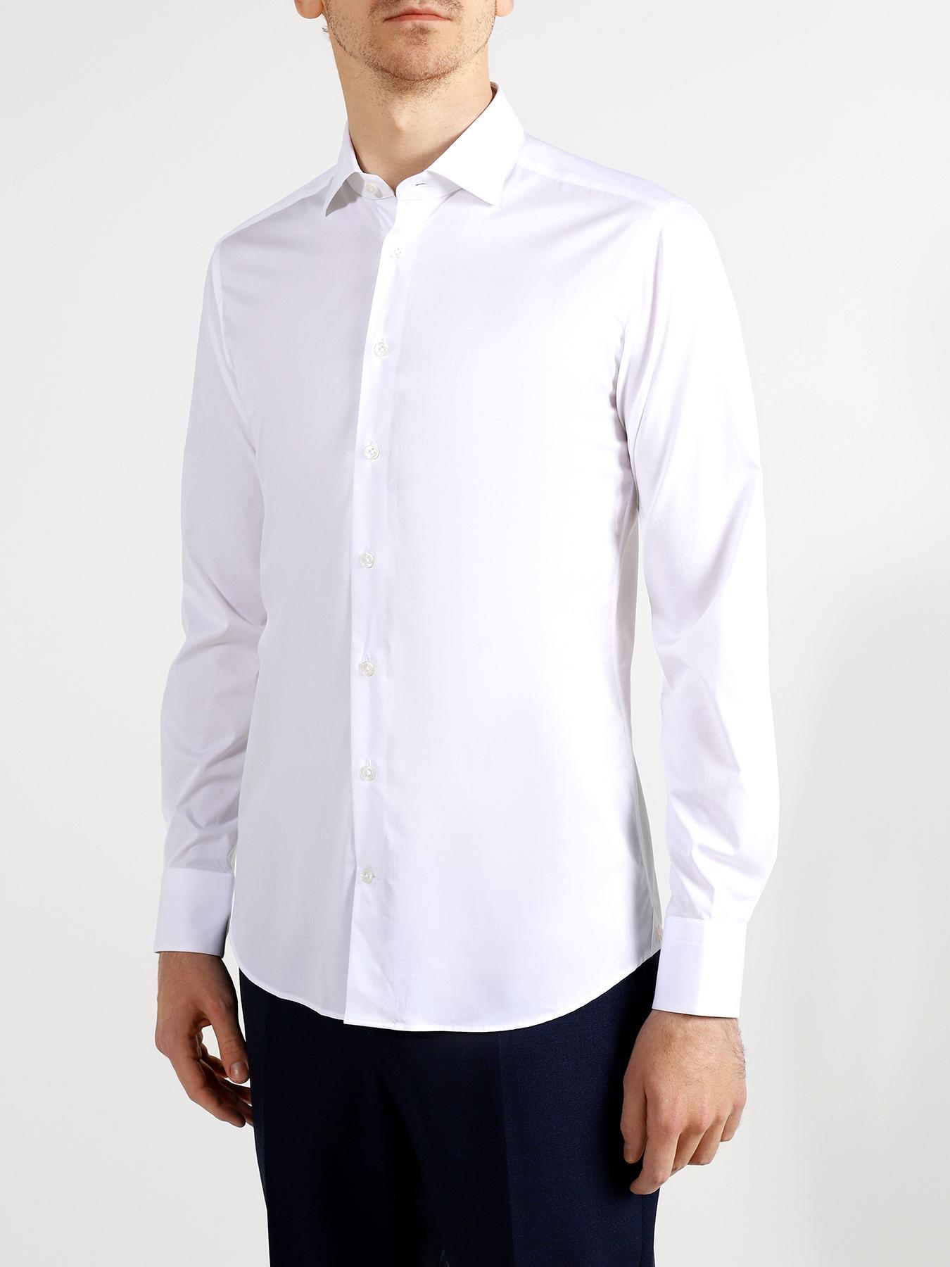 Рубашки Korpo Хлопковая рубашка с длинным рукавом