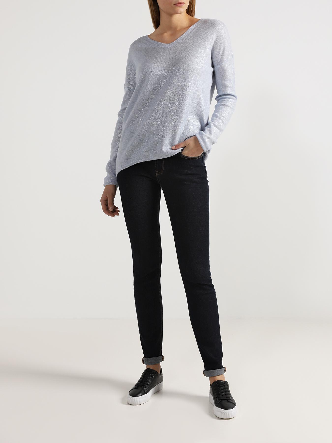 Брюки 6 P.M. Зауженные джинсы