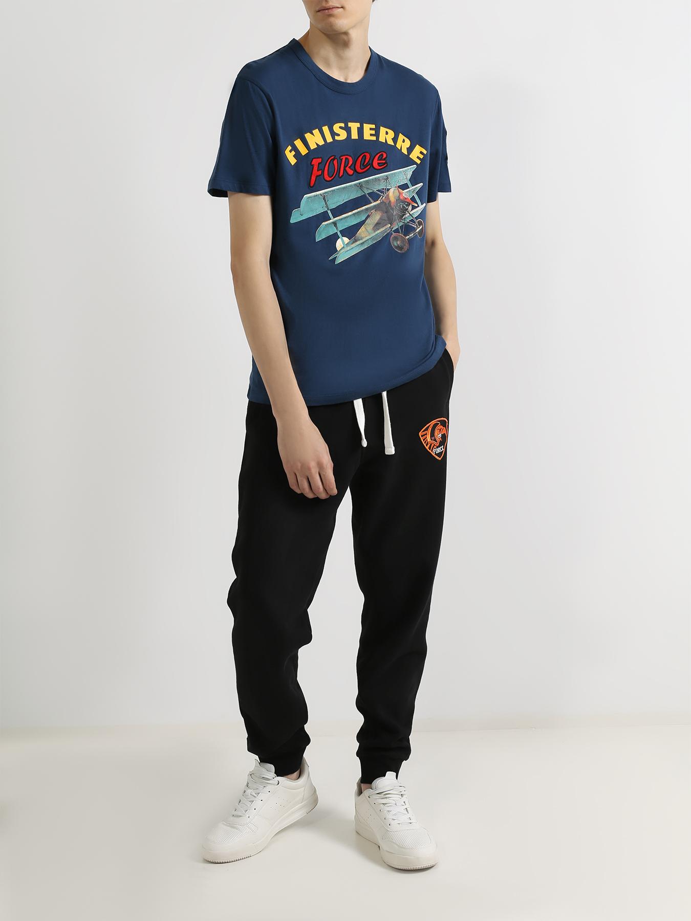Фуфайка Finisterre Force Хлопковая футболка brioni хлопковая футболка