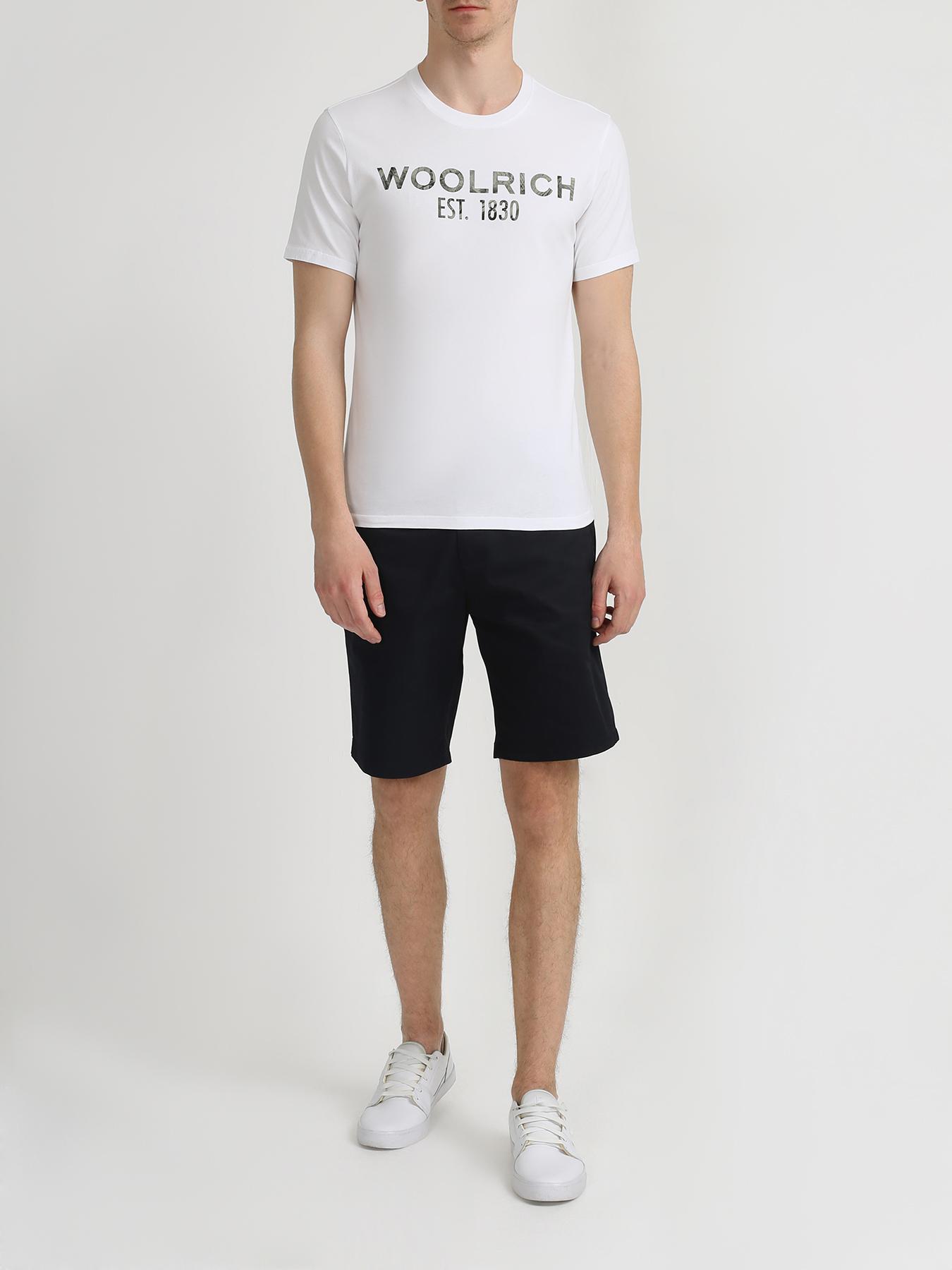 Woolrich Хлопковая футболка 345682-045