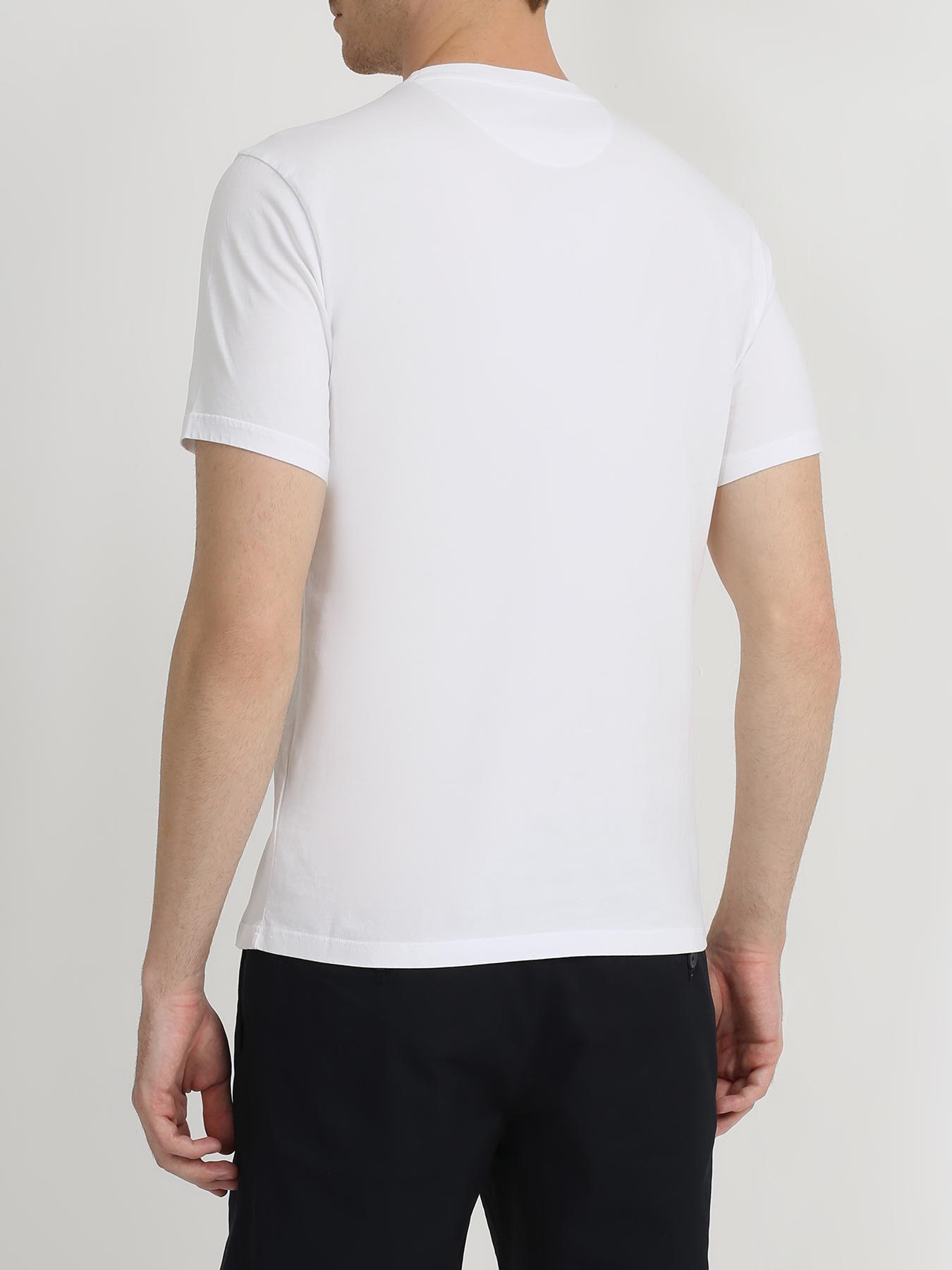 Woolrich Хлопковая футболка 345682-045 Фото 2