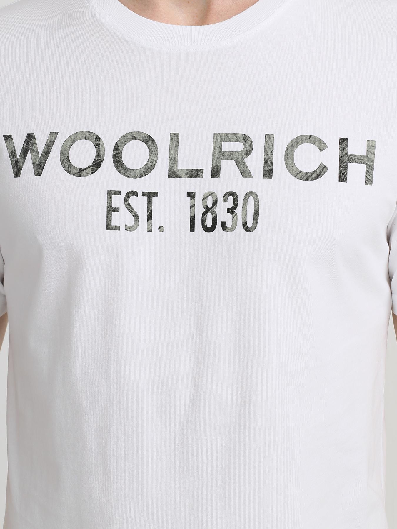 Woolrich Хлопковая футболка 345682-045 Фото 3