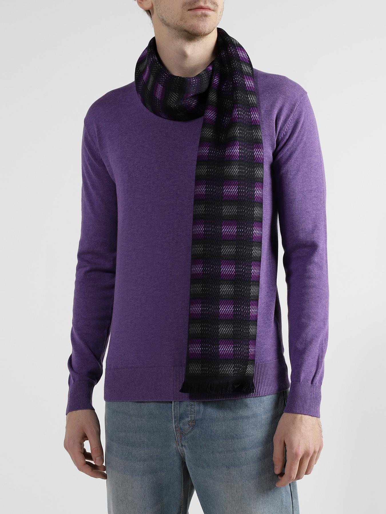 Шарф Alessandro Manzoni Мужской шарф шарф mango violeta шарф