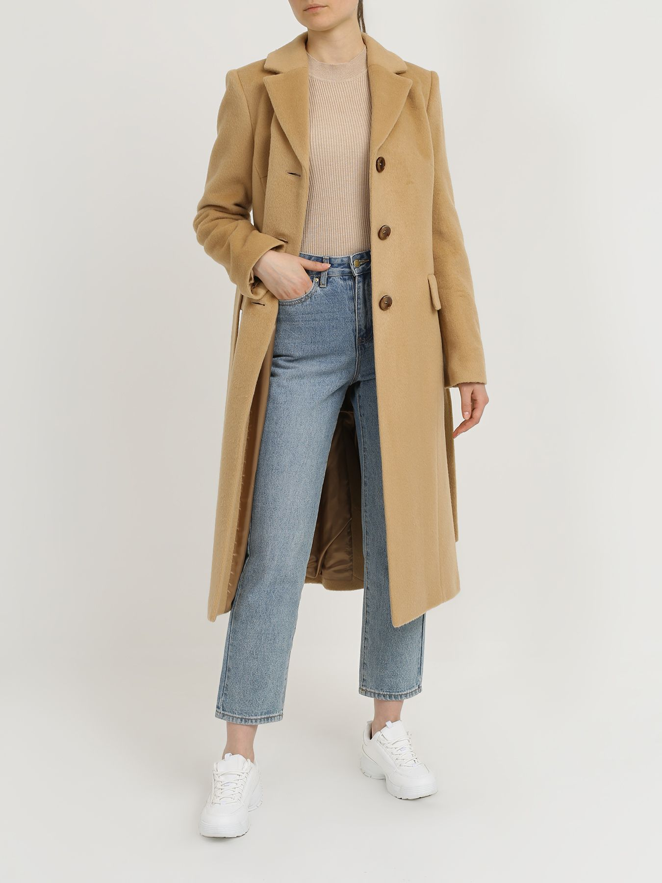 Пальто Korpo Длинное пальто пальто korpo мужское пальто