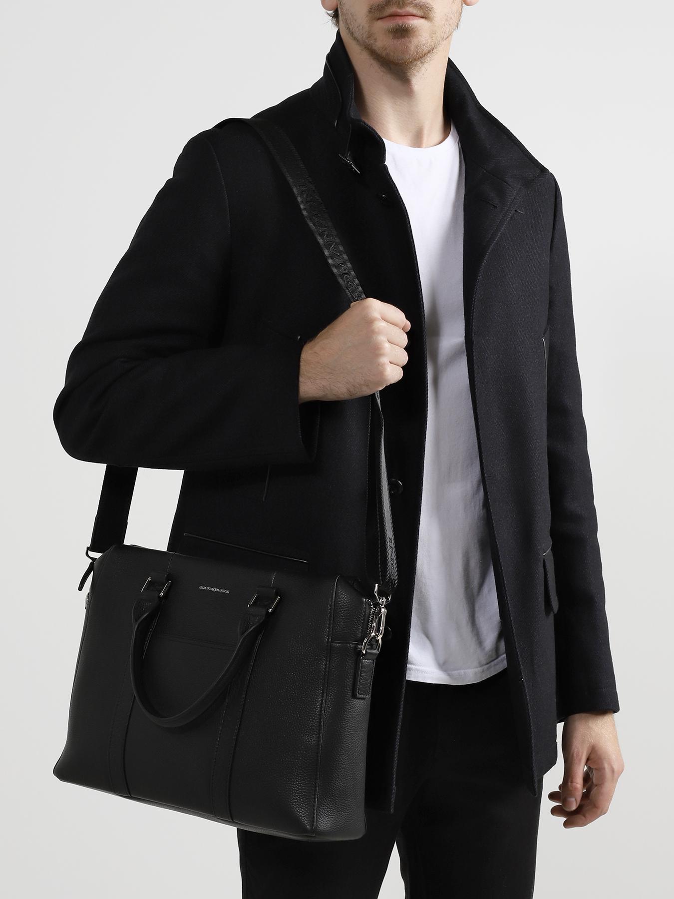 Сумка Alessandro Manzoni Мужская сумка сумки женские alessandro birutti сумка 4009 abir4009 синяя симф