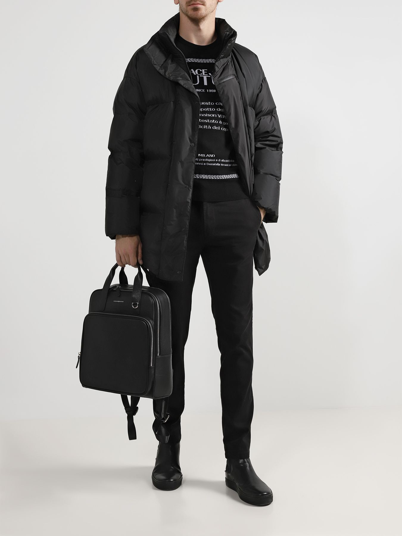 Рюкзак Alessandro Manzoni Городской рюкзак рюкзак городской husky scotter 20l цвет черный