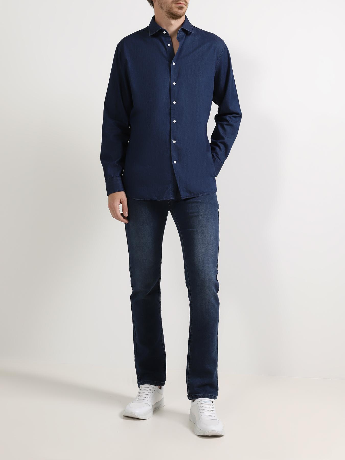 Брюки Alessandro Manzoni Jeans Зауженные джинсы jeans big star джинсы зауженные