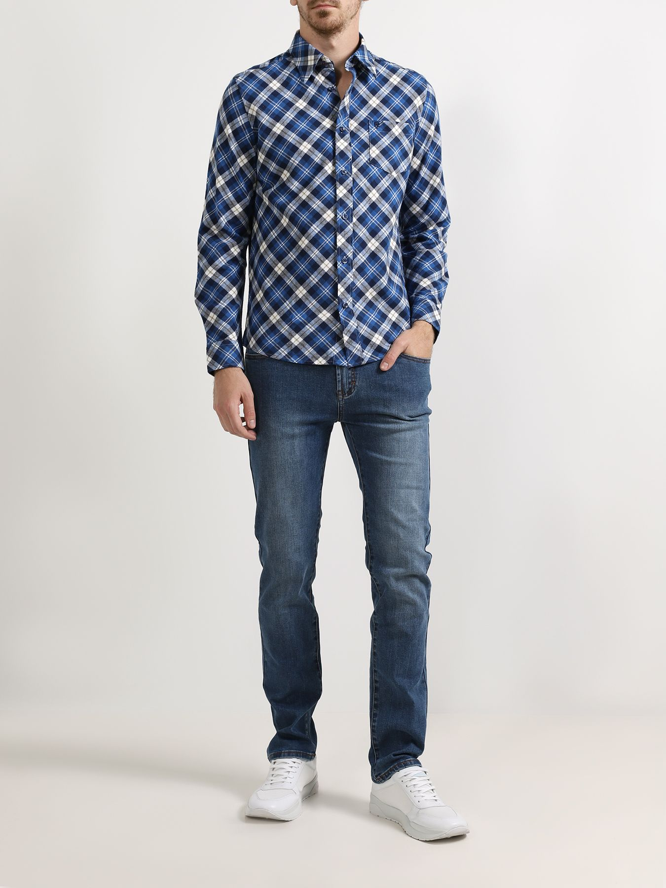 Alessandro Manzoni Jeans Зауженные джинсы фото