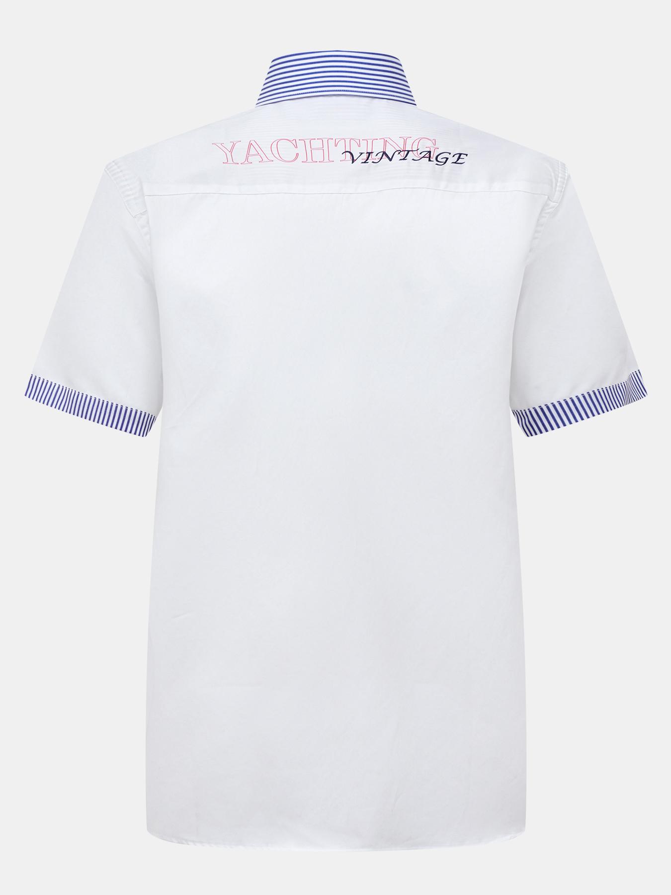 Alessandro Manzoni Yachting Рубашка с коротким рукавом фото