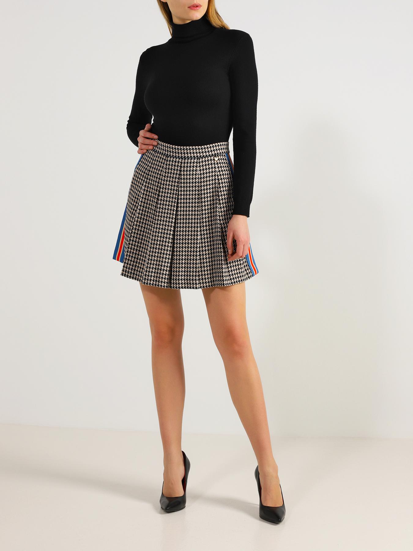 Юбка My Twin Twinset Плиссированная юбка с карманами twin set lingerie длинная юбка