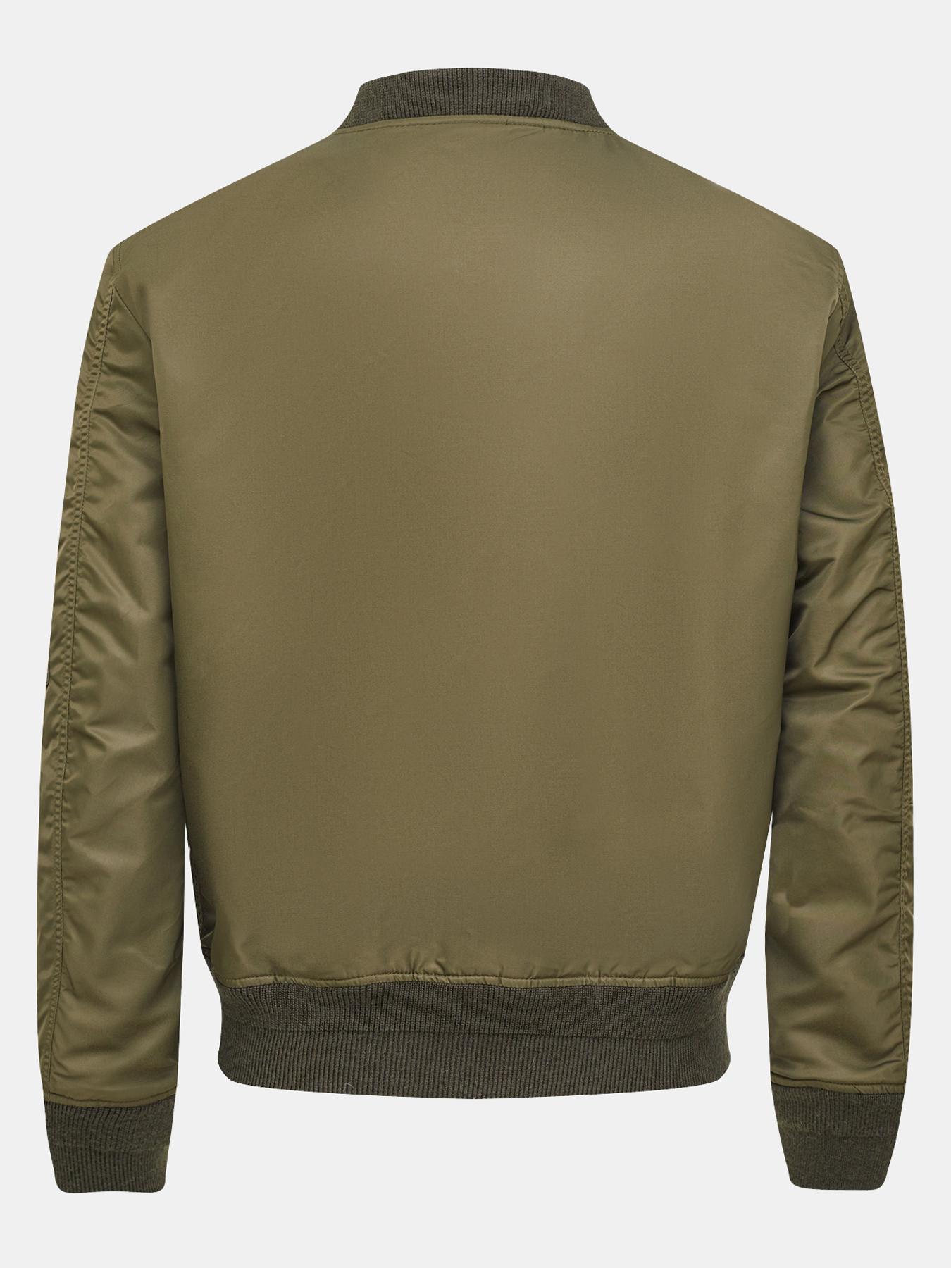 Куртка Diesel Бомбер куртка кожаная diesel diesel di303ewfexi7