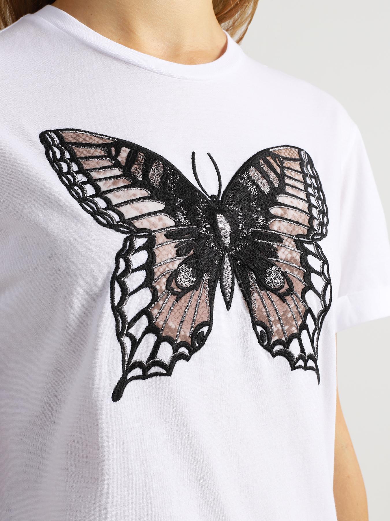 TWINSET Женская футболка 349626-042 Фото 3